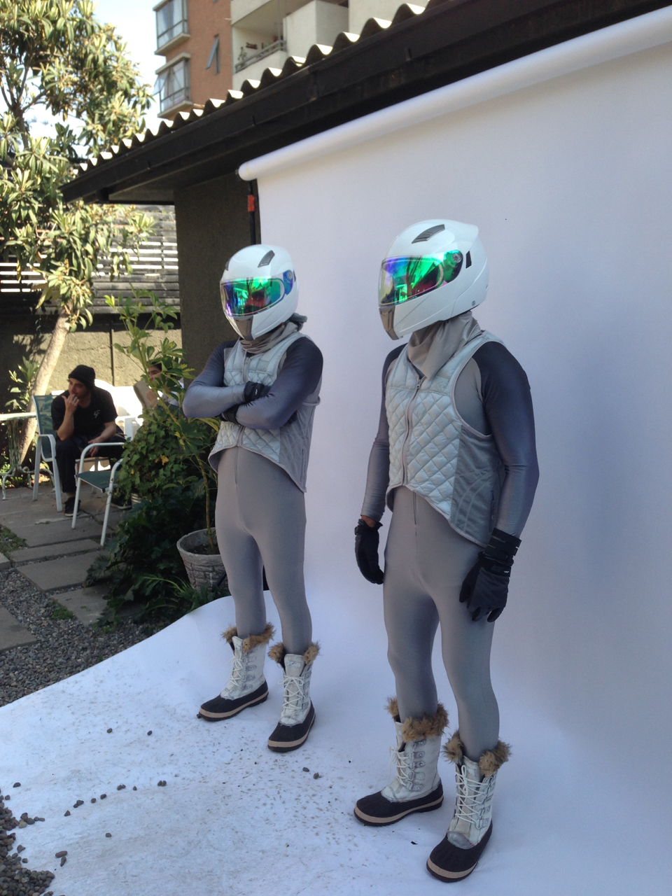Casting call in Santiago, Chile. The wardrobe was out of this world! Wardrobe by  www.javierat.com