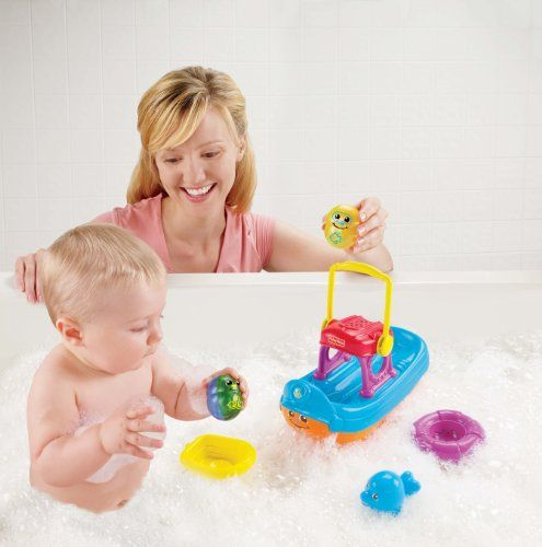 Fisher-Price Topzy Tumblers Tubtime Tumblin' Boat, print campaign