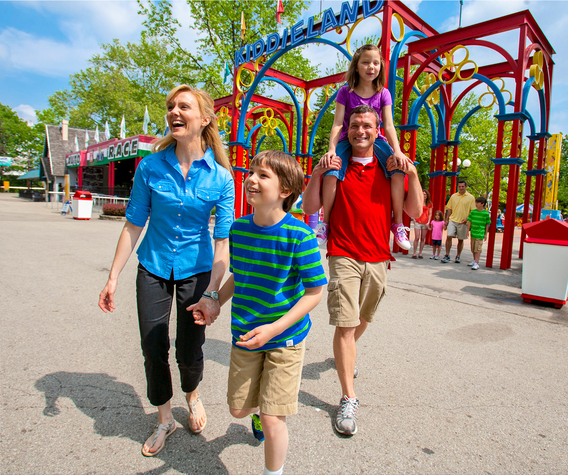 Kennywood Amusement Park, print campaign