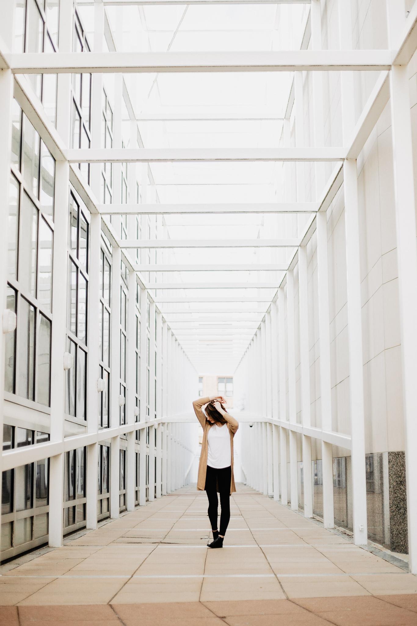Phoebe | Ohio State University Urban Senior Portrait Session | Catherine Milliron Photography | Ohio Wedding + Engagement Photographer