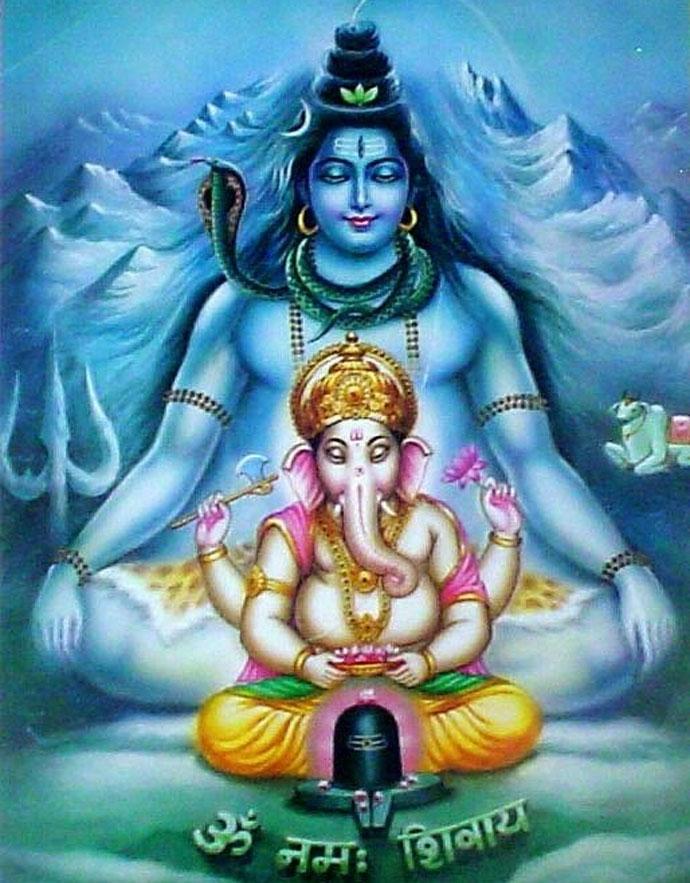Lord Shiva & Divine Father Ganesha