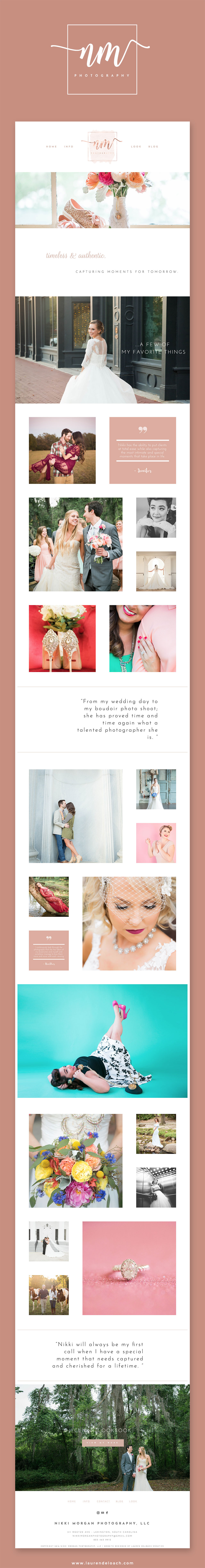Website full screenshot (will later use this to pin in Pinterest)