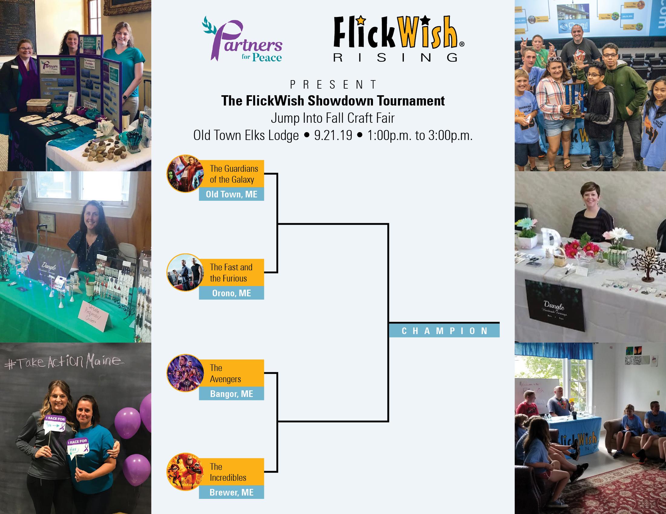 The FlickWish Showdown Tournament