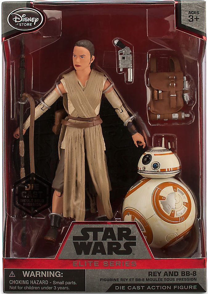 Initial Force Friday release of Rey & BB-8