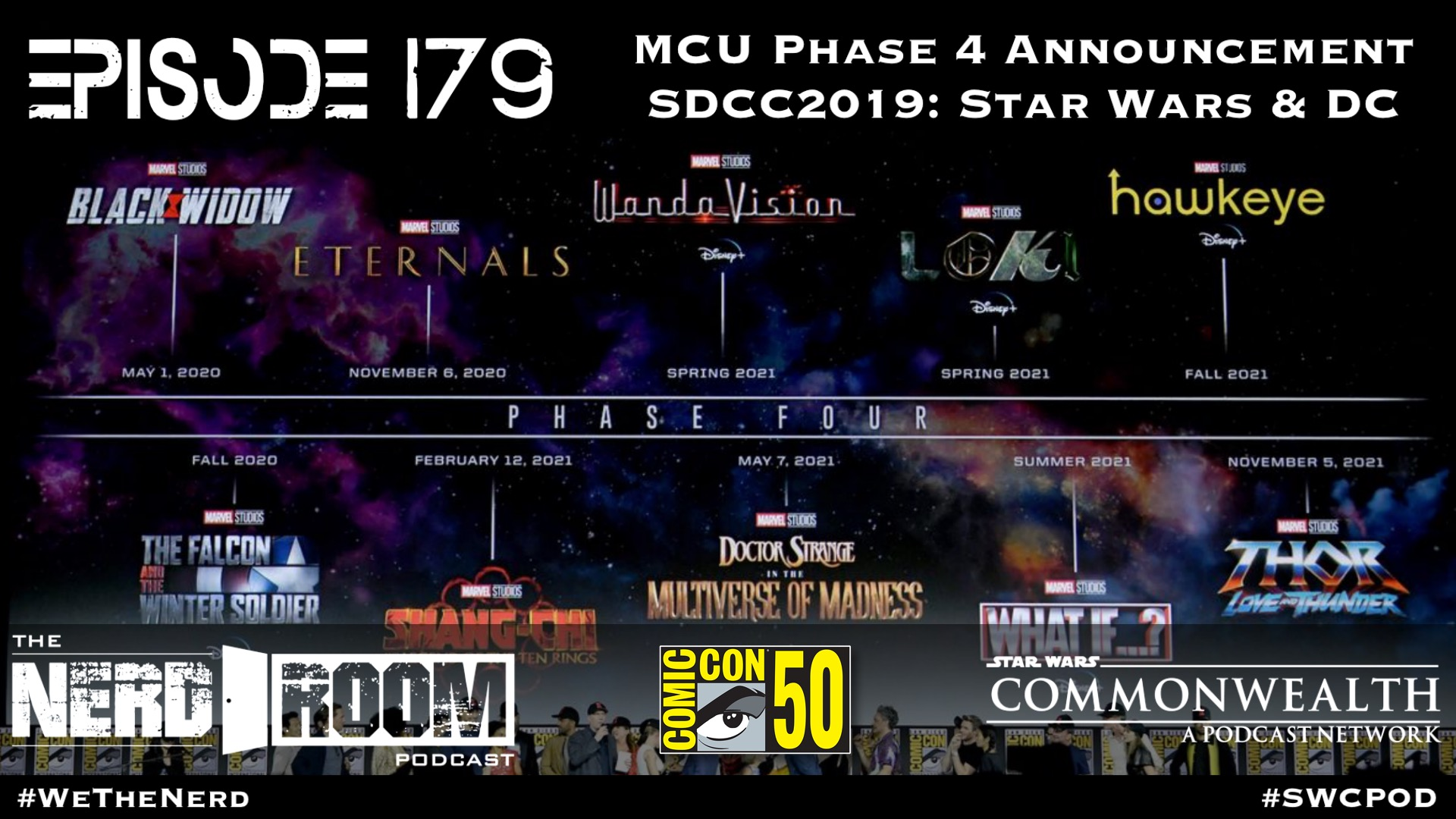 mcu phase 4 announcement