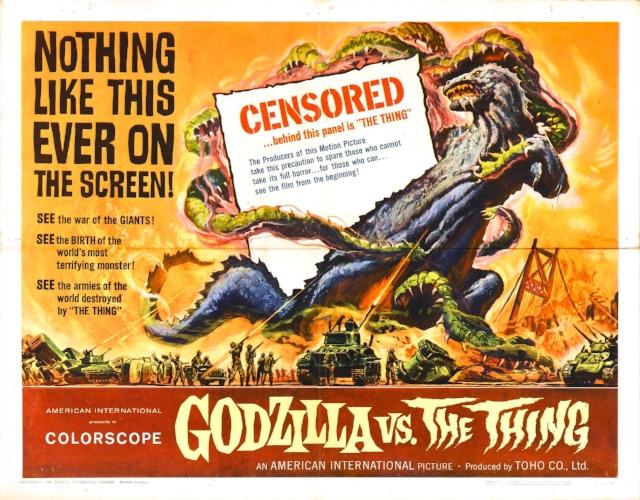 Mothra vs. Godzilla, or godzilla vs. the thing if you're a filthy gaijin like me