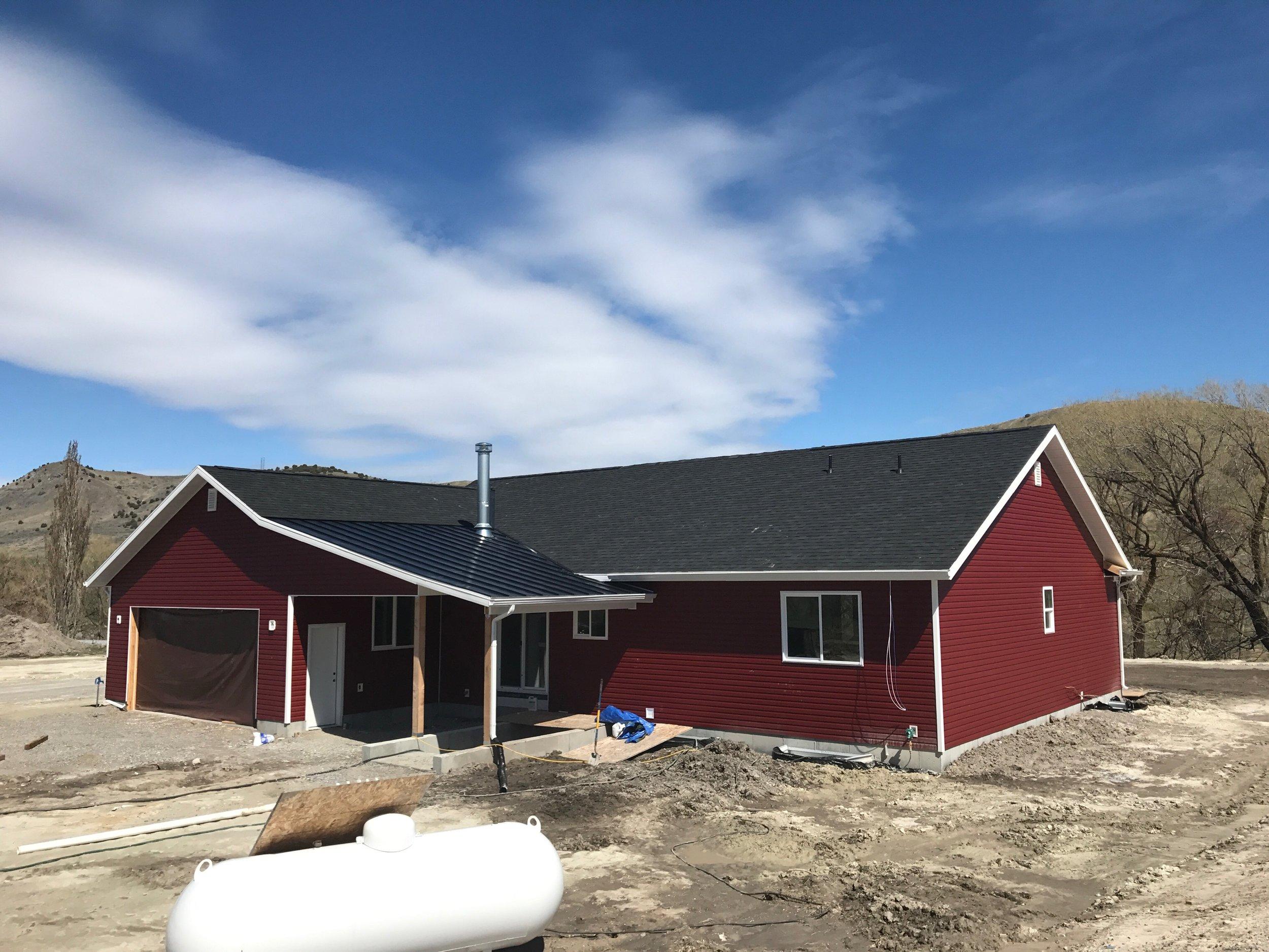 Logan Utah Metal Roof