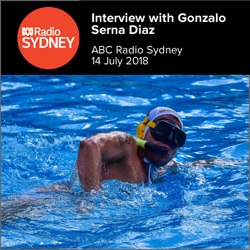 Interview with Gonzalo Serna Diaz (Sydney Whales)  ABC Radio Sydney, 14 July 2018