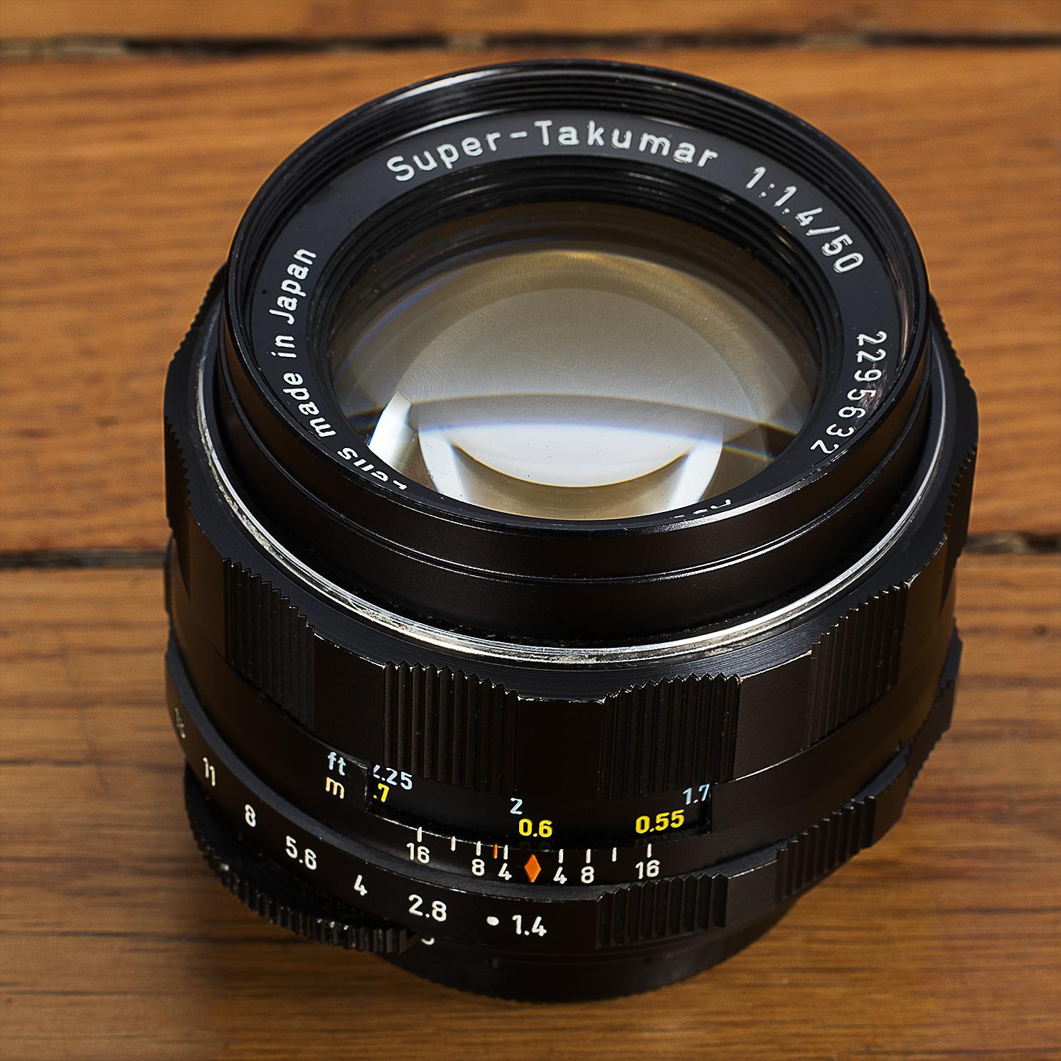 SMC Super Takumar 50 mm f/1.4