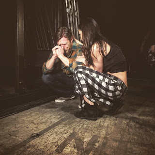 Daniel Bryan backstage with his wife Brie Bella (@thebellatwins)