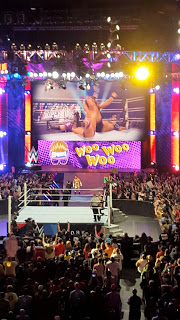 Zack Ryder during his entrance