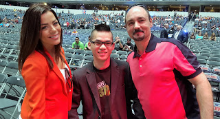 Jackie Redmond, Dickson Liong and Jimmy Konderas