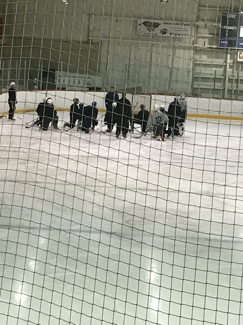 Shooting coach Tim Turk working with TSC clients after one of the development camps