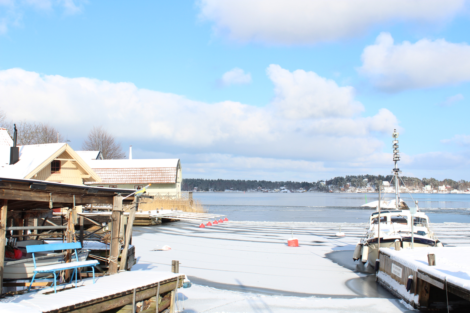 Norra hamnen, Vaxholm