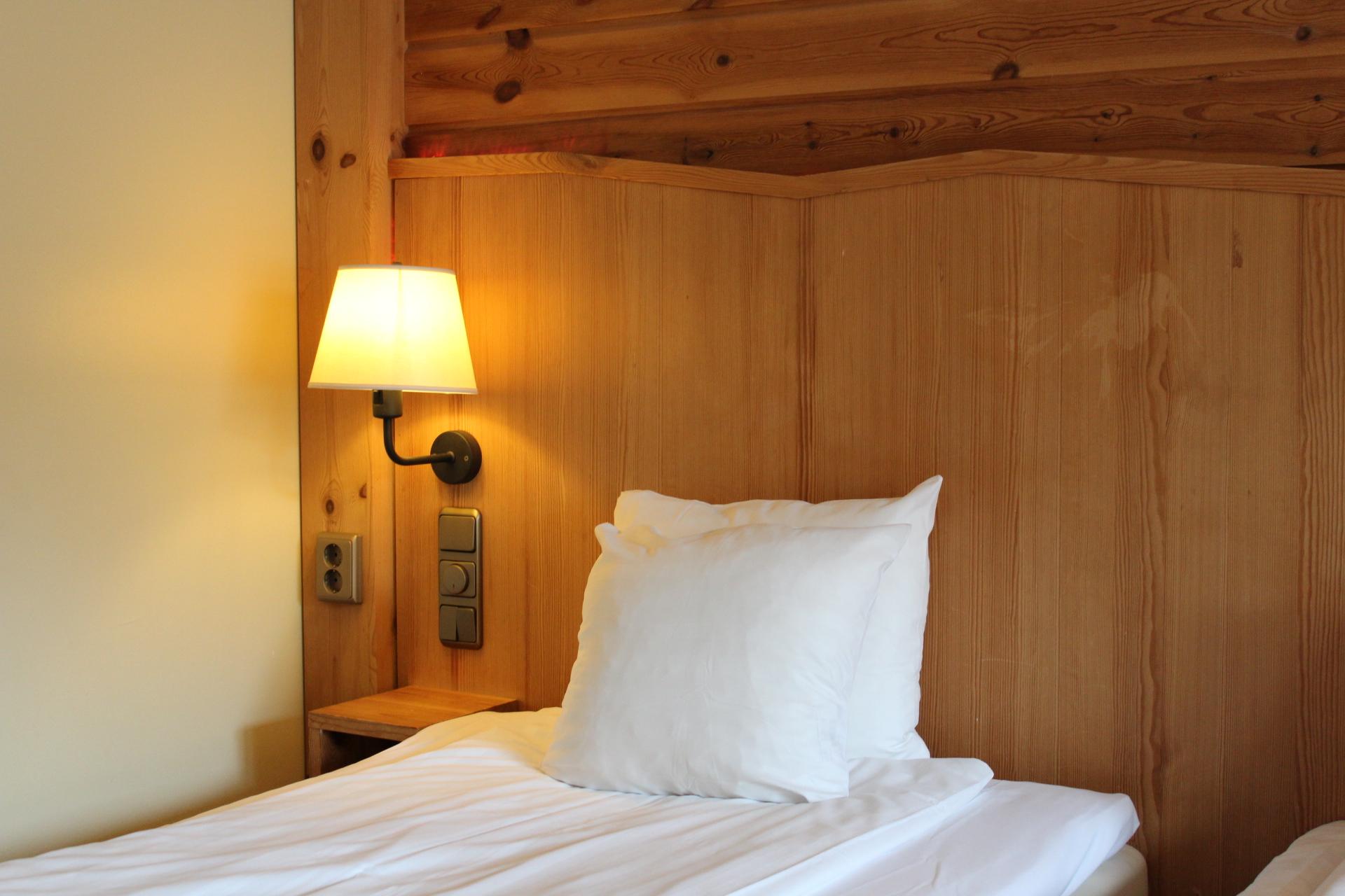 Mysiga rum och ganska sköna sängar!