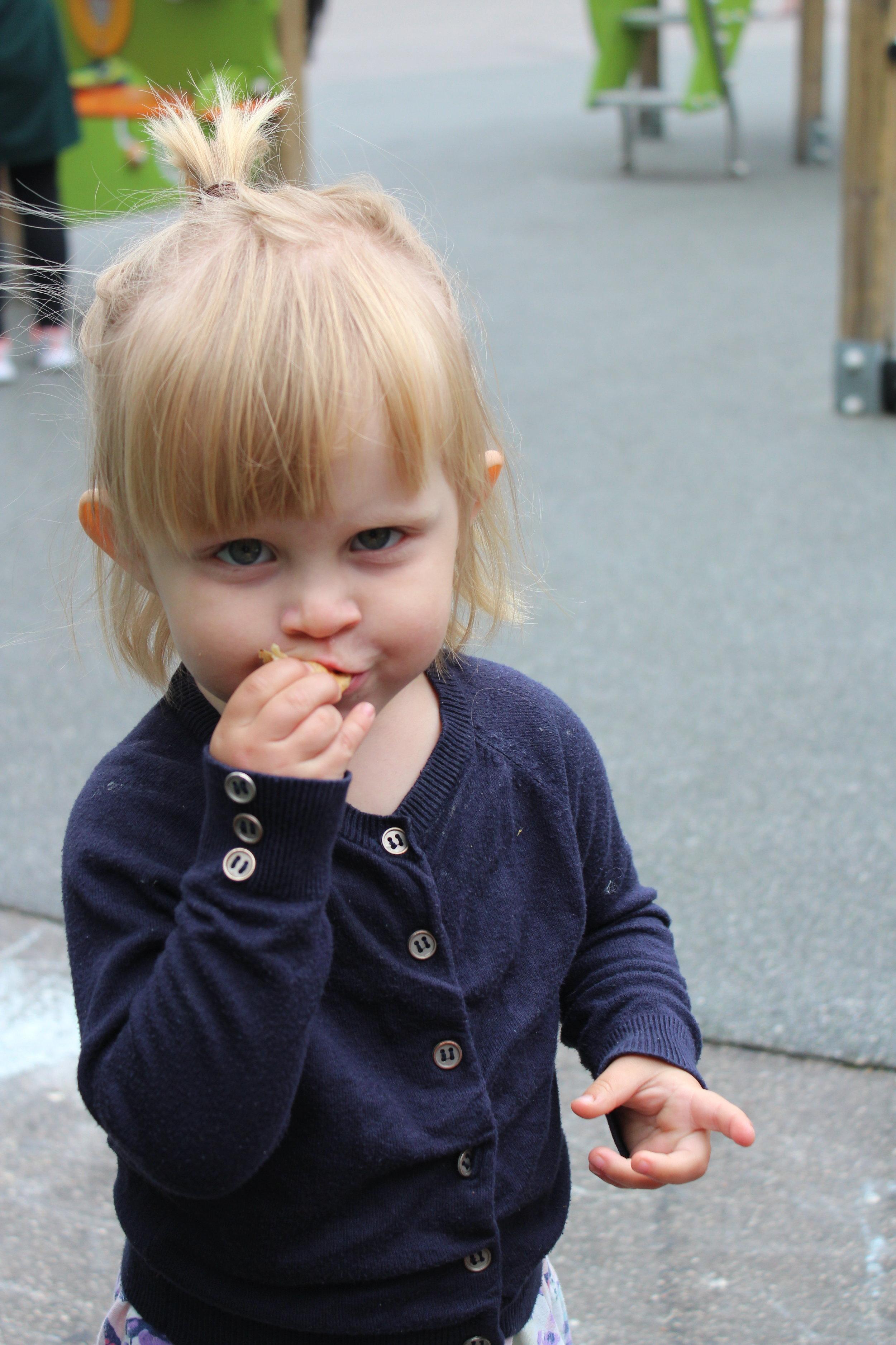 Crepes-tjejen