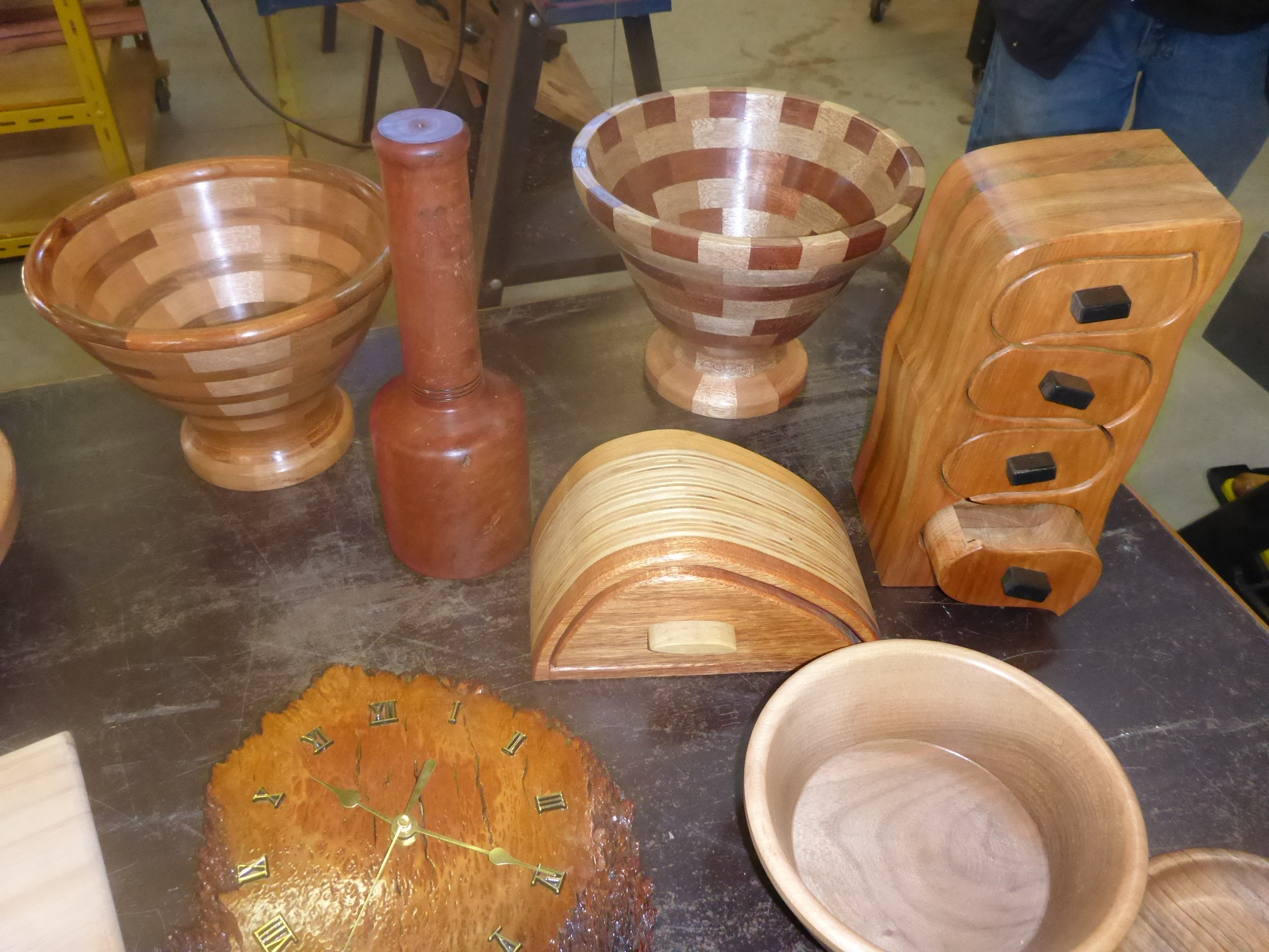Woodwork from one of our members