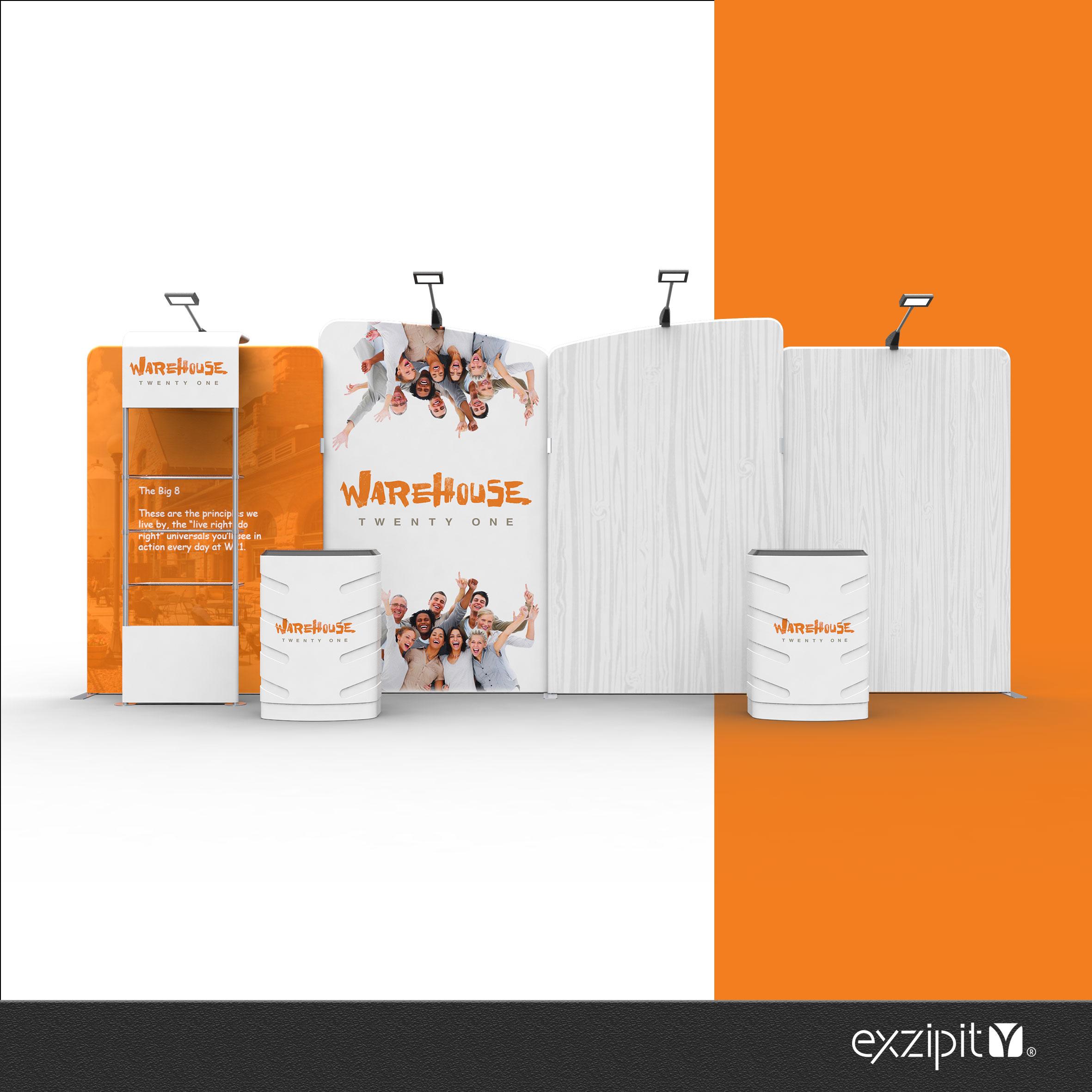 exzipit™ Media Portable Exhibition Kits