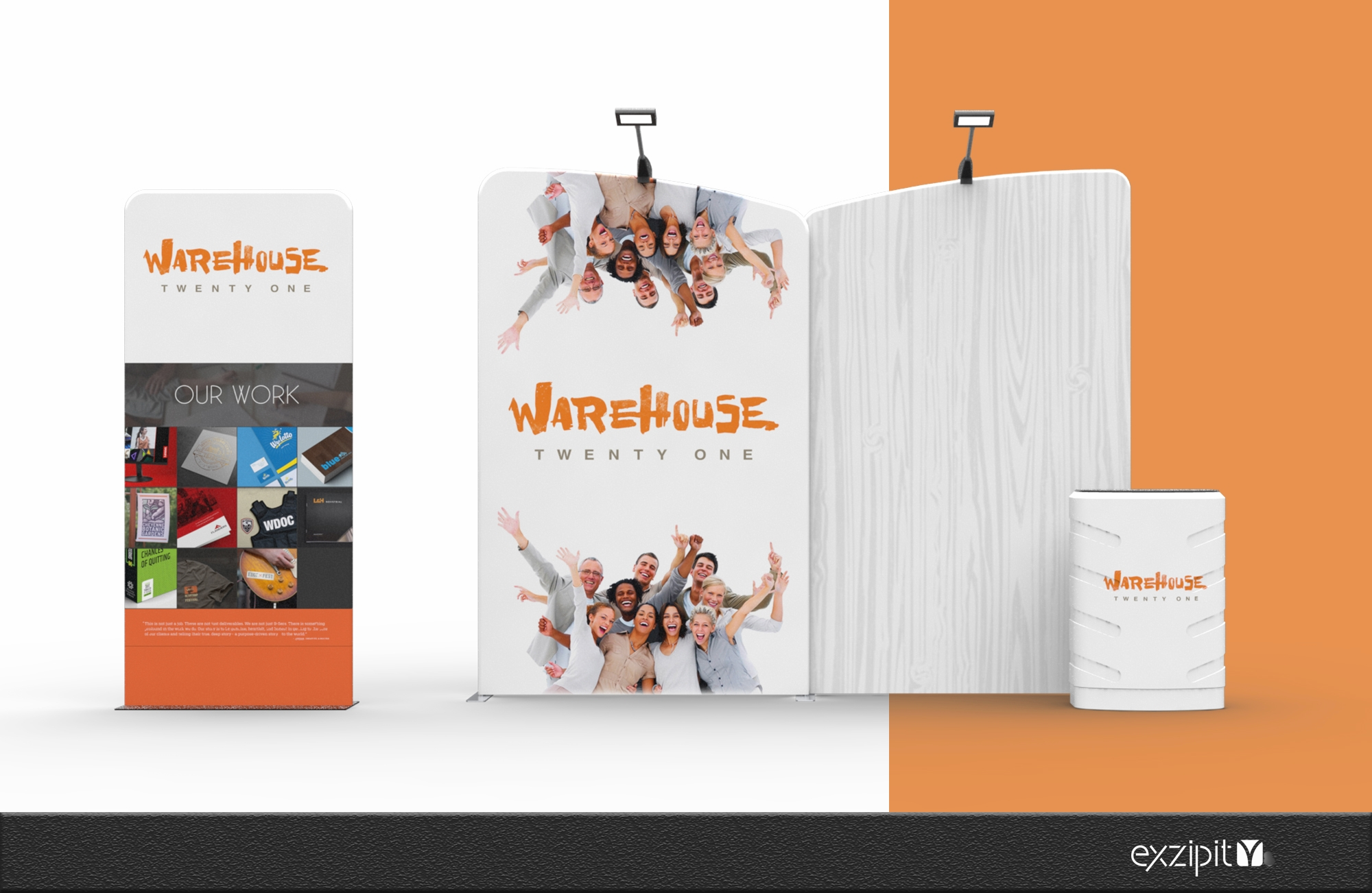 exzipit™ Portable Exhibition Kits-Outback Range Kit-05