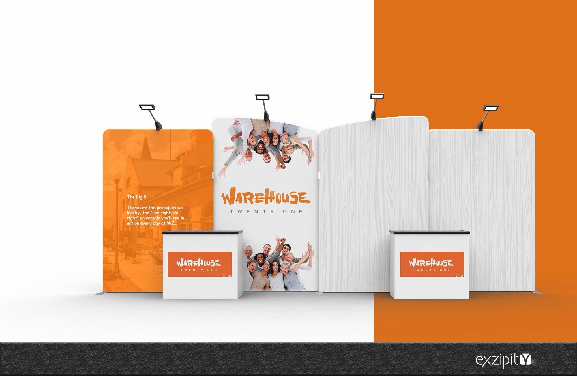 exzipit™ Portable Exhibition Kits-Genius Range Kit-02