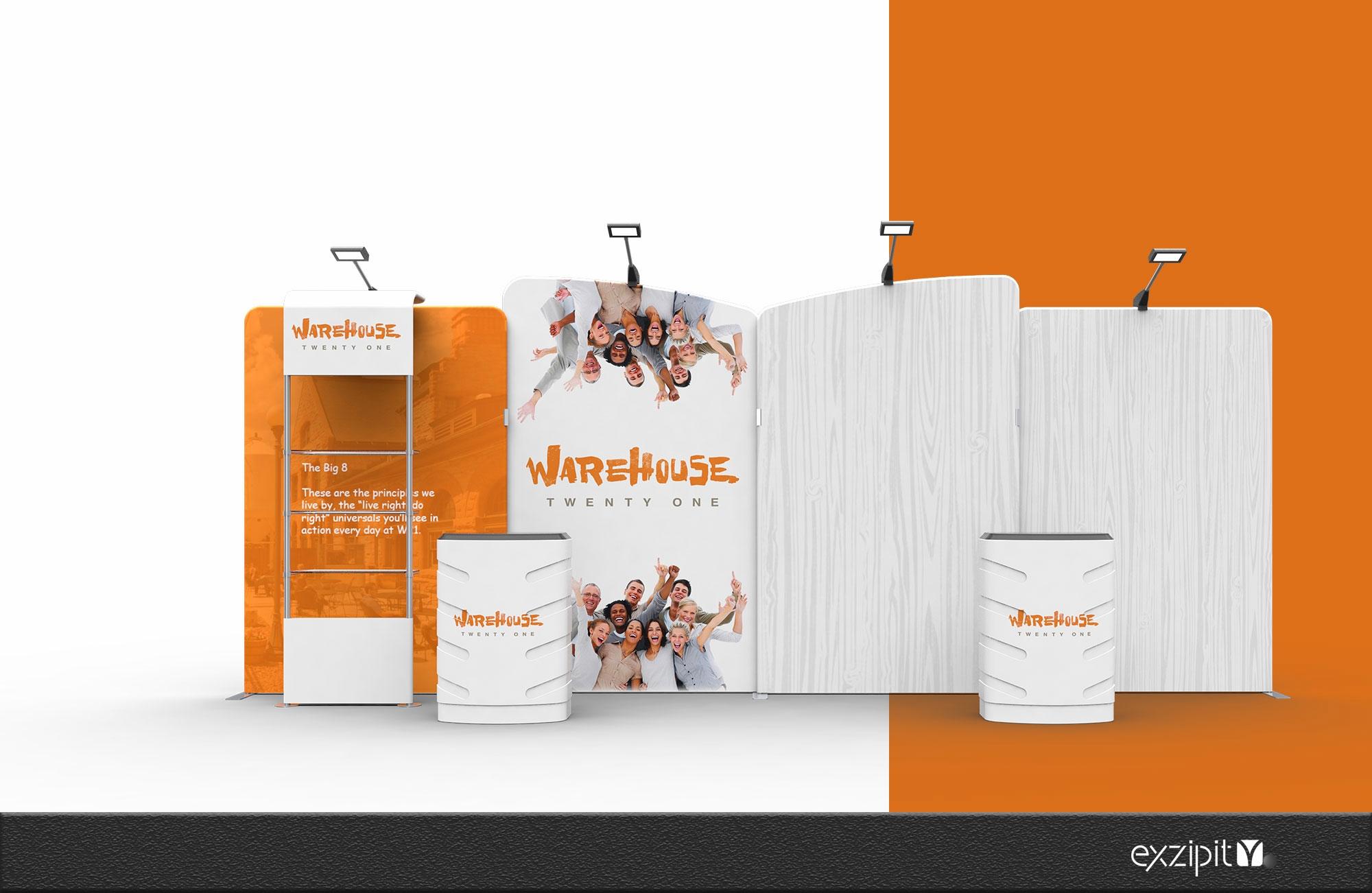 exzipit™ Portable Exhibition Kits-Genius Range Kit-03