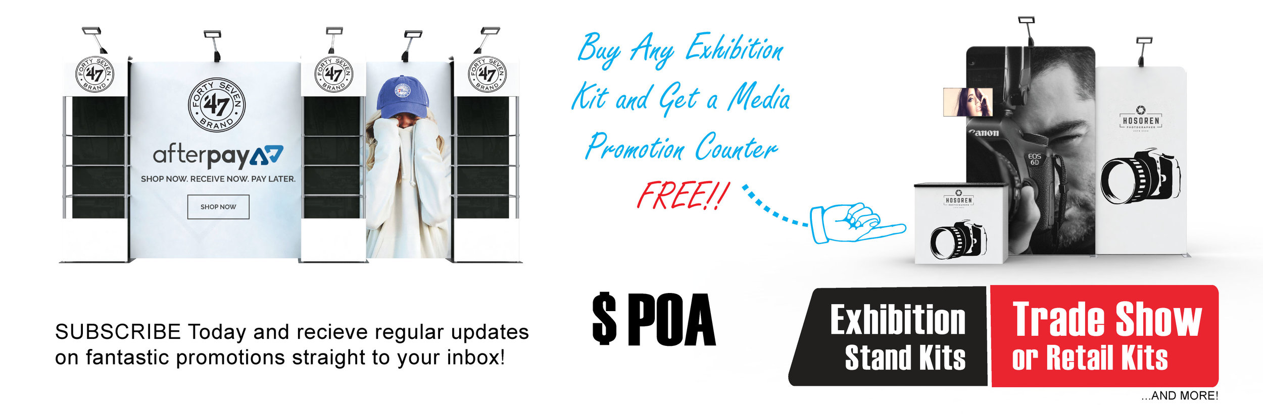 Exhibition Stand Display Kits