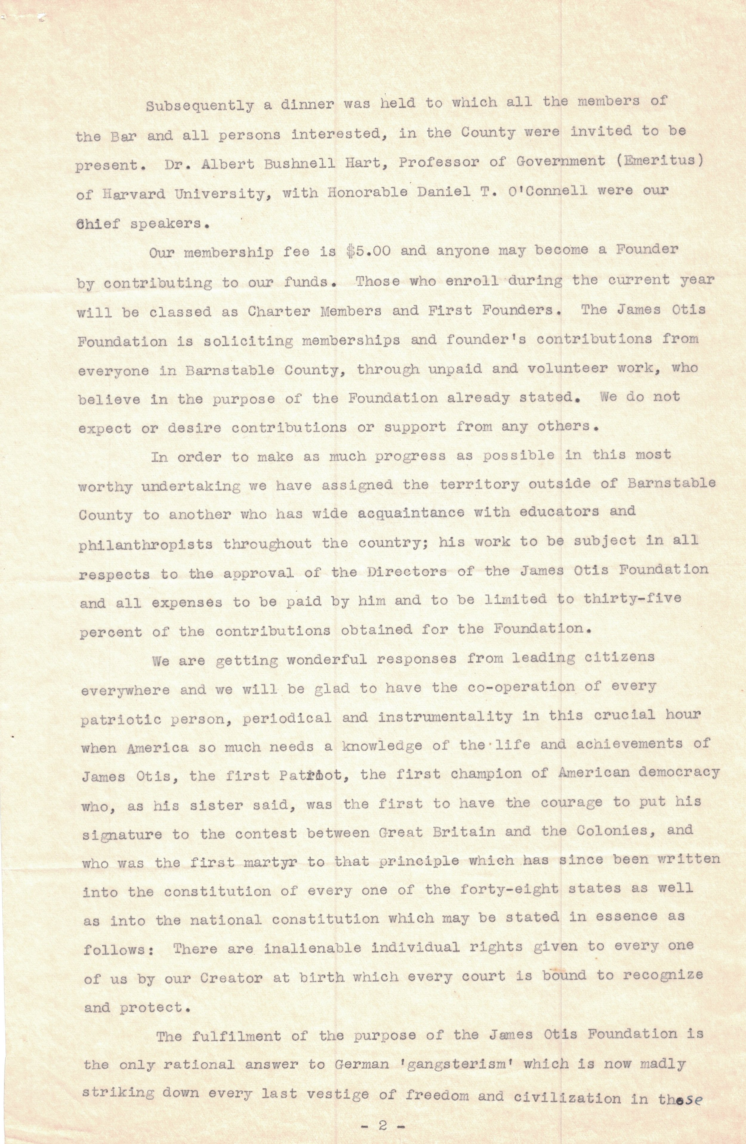 1940 Letter (Page 2)