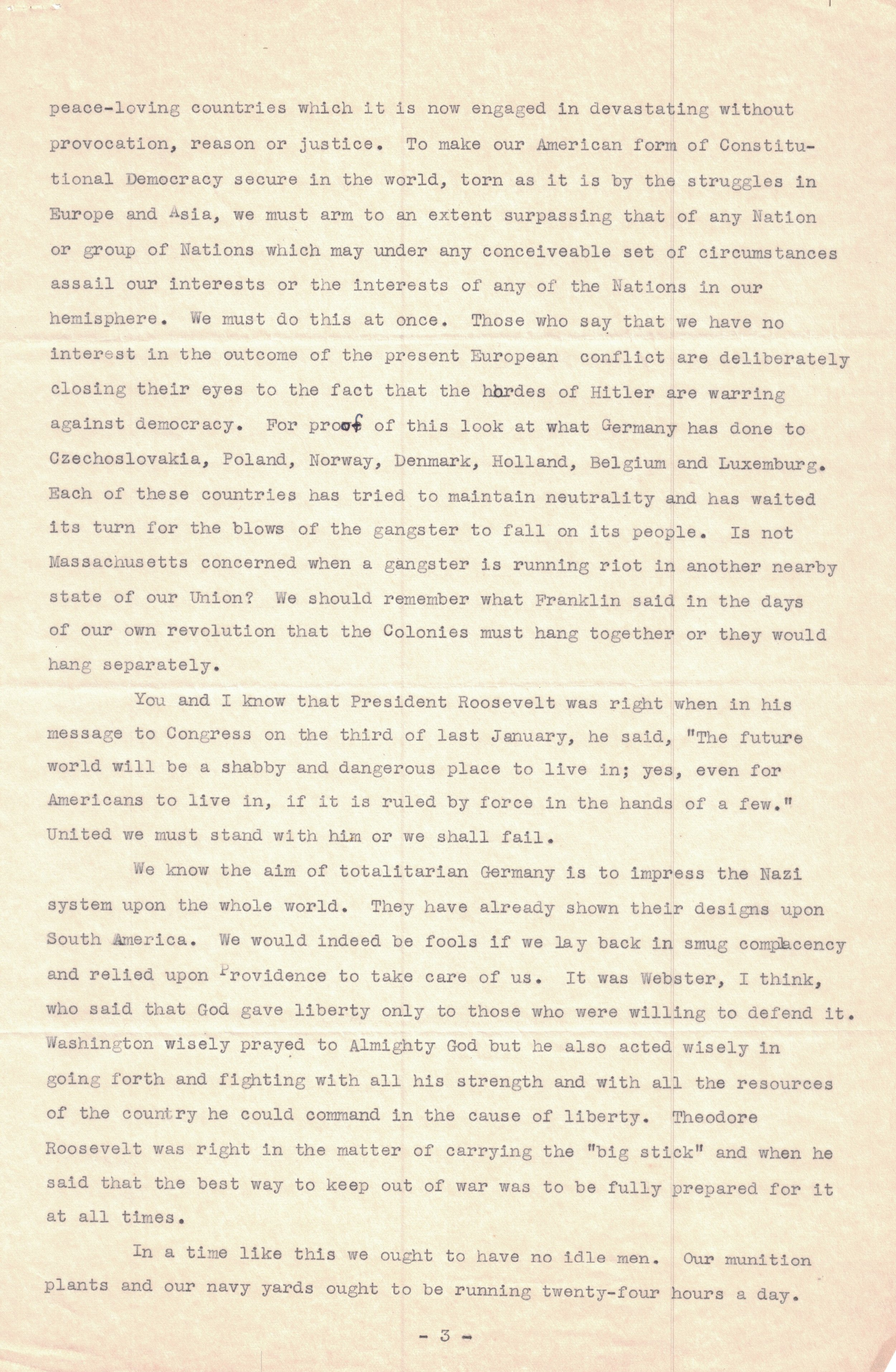 1940 Letter (Page 3)