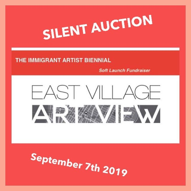 the immigrant artist biennial Exhibition and auction - BIDDING OPEN 6-8 PMSeptember, 7th 2019Artists: Keren Anavy, Graciela Cassel, Eva Davidova, Ana Maria Farina, Gina Goico, Loretta Lomanto, Sania Samad, Liza Sokolovskaya, Tatiana Soteropoulos, Gene Tanta, Beverly Tu, Kohei Urakami, Keiko Nabila Yamazaki.Poets: Marina Blitshteyn and more TBAThe Immigrant Artist Biennial-TIAB is a multi-disciplinary multi venue exhibition of critically engaged contemporary art made by immigrant artists from around the world, based in US. Premiering in Spring/Summer 2020 in NYC, TIAB sets out to form an international dialogue through exhibition of ambitious projects, performances, panels, etc with an aim to facilitate a diverse and experimental discourse as well as build a globally connected and united community in the times of extreme anti-immigrant sentiment, unrest, discrimination and exclusion.The Immigrant Artist Biennial seeks to develop urgent and innovative relationship between artists and audiences. Established and directed, by Immigrant Artist, Curator, Organizer and Educator, Katya Grokhovsky and led by a team of arts professionals, TIAB seeks to create a platform for exchange and presentation of projects by often overlooked and silenced voices.