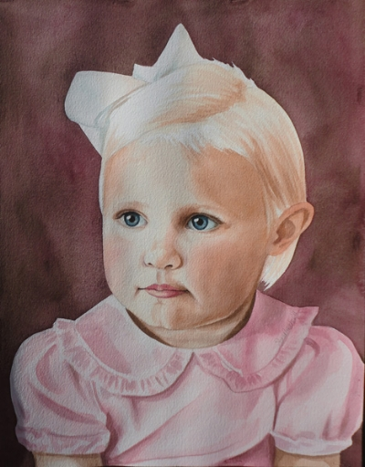 Watercolor Portraits start at $299 for a single subject. See below for more prices.