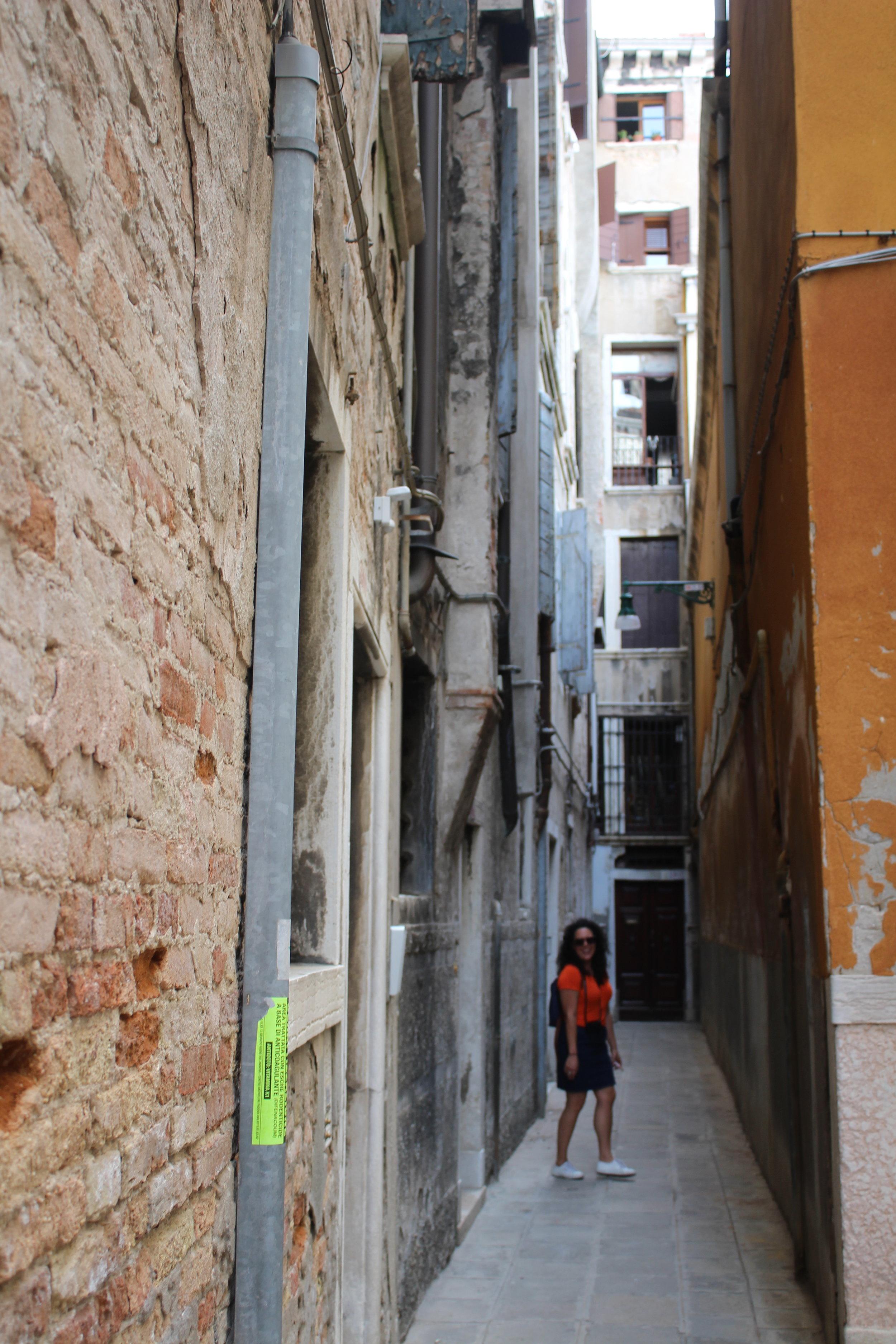 Getting lost in Venice and lovin' it