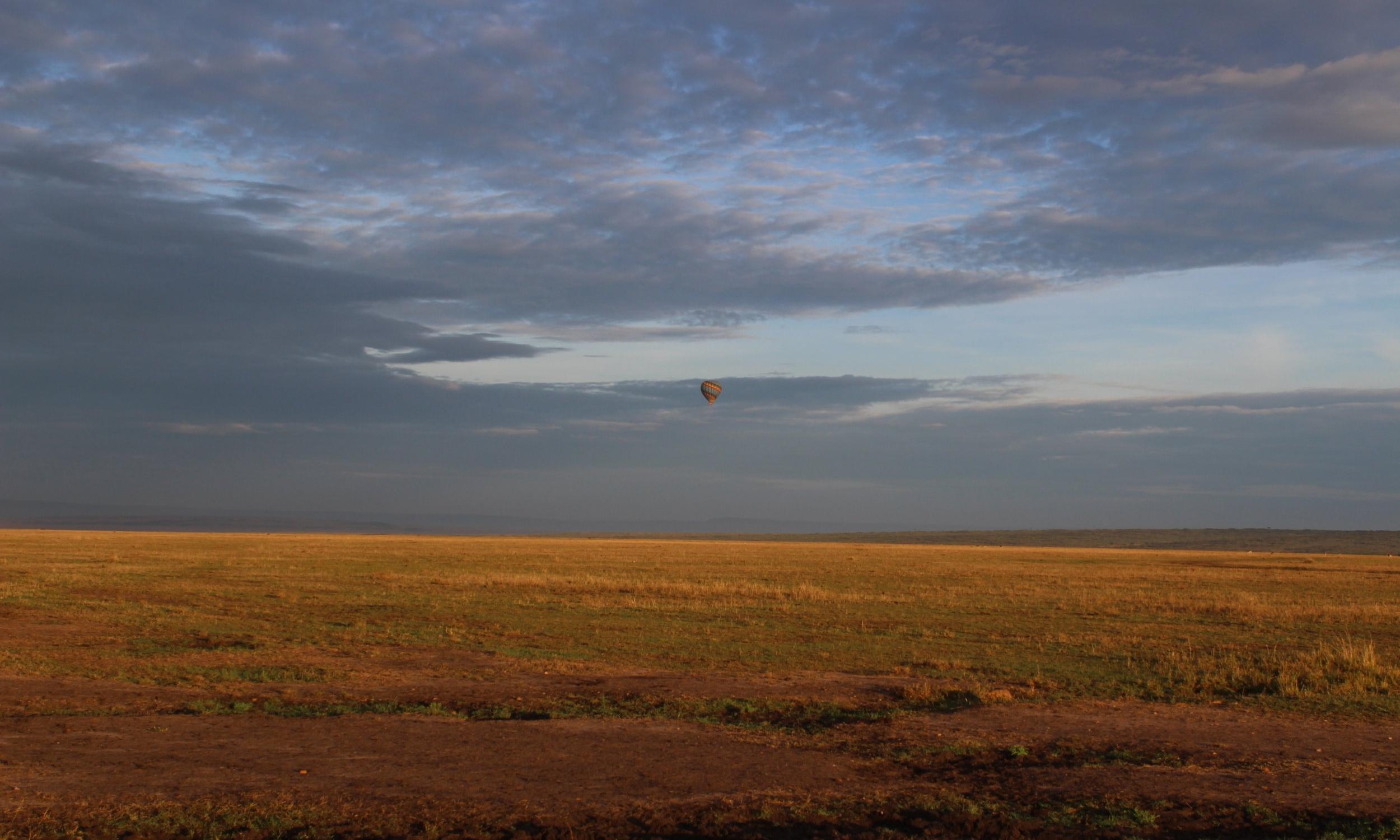 Sunrise over the Masai Mara