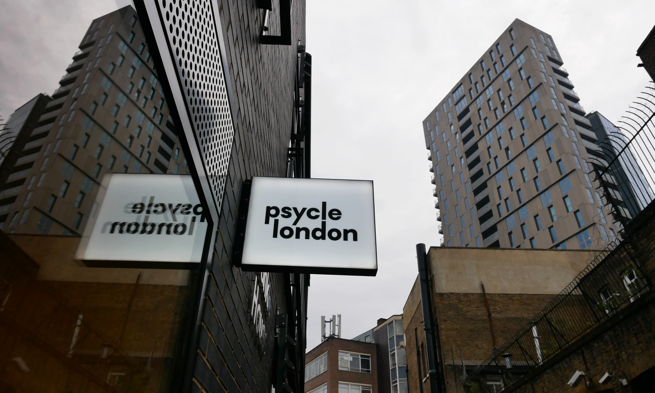 Psycle Shoreditch, where all the hipsters like to spin