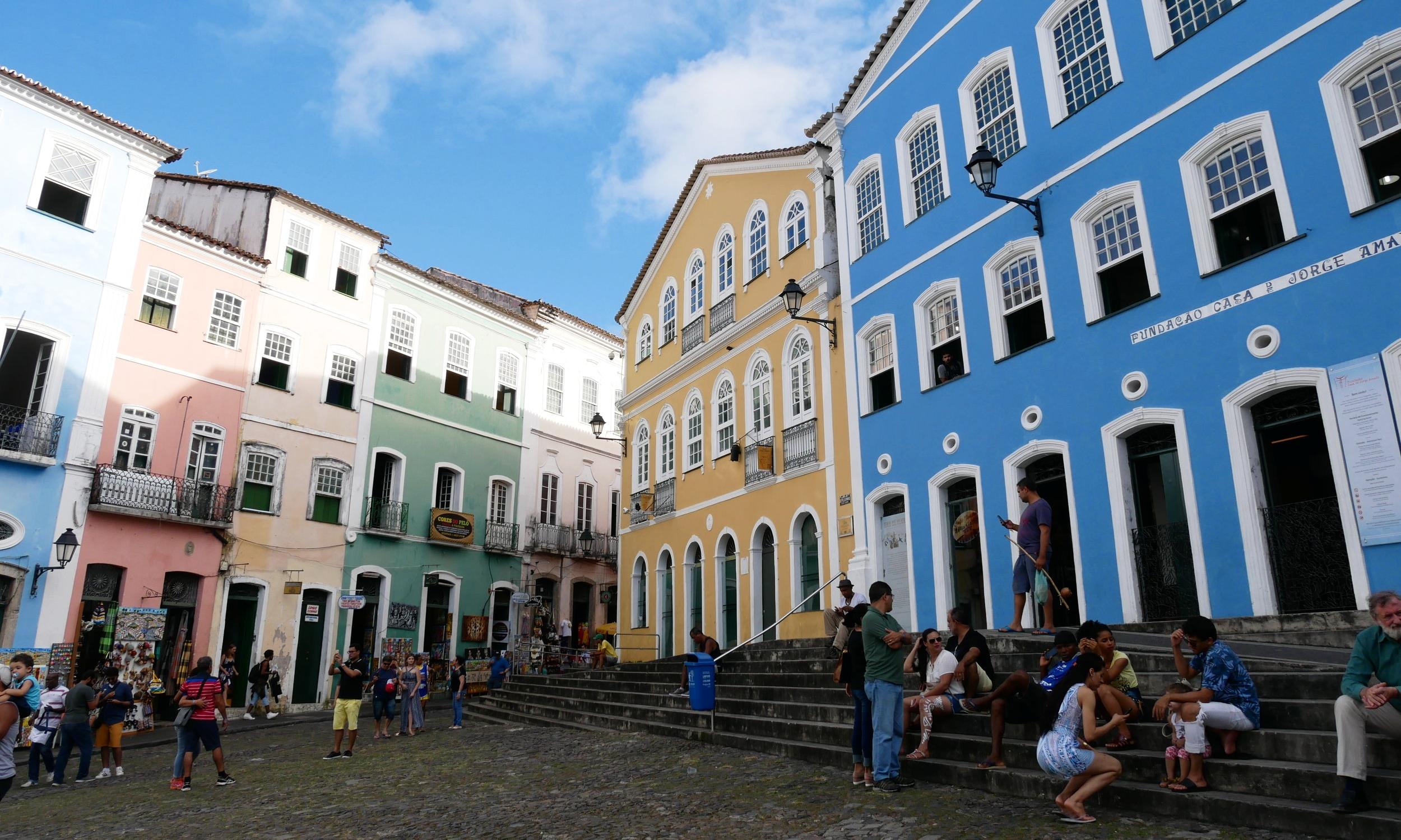 Colonial houses in the Pelourinho