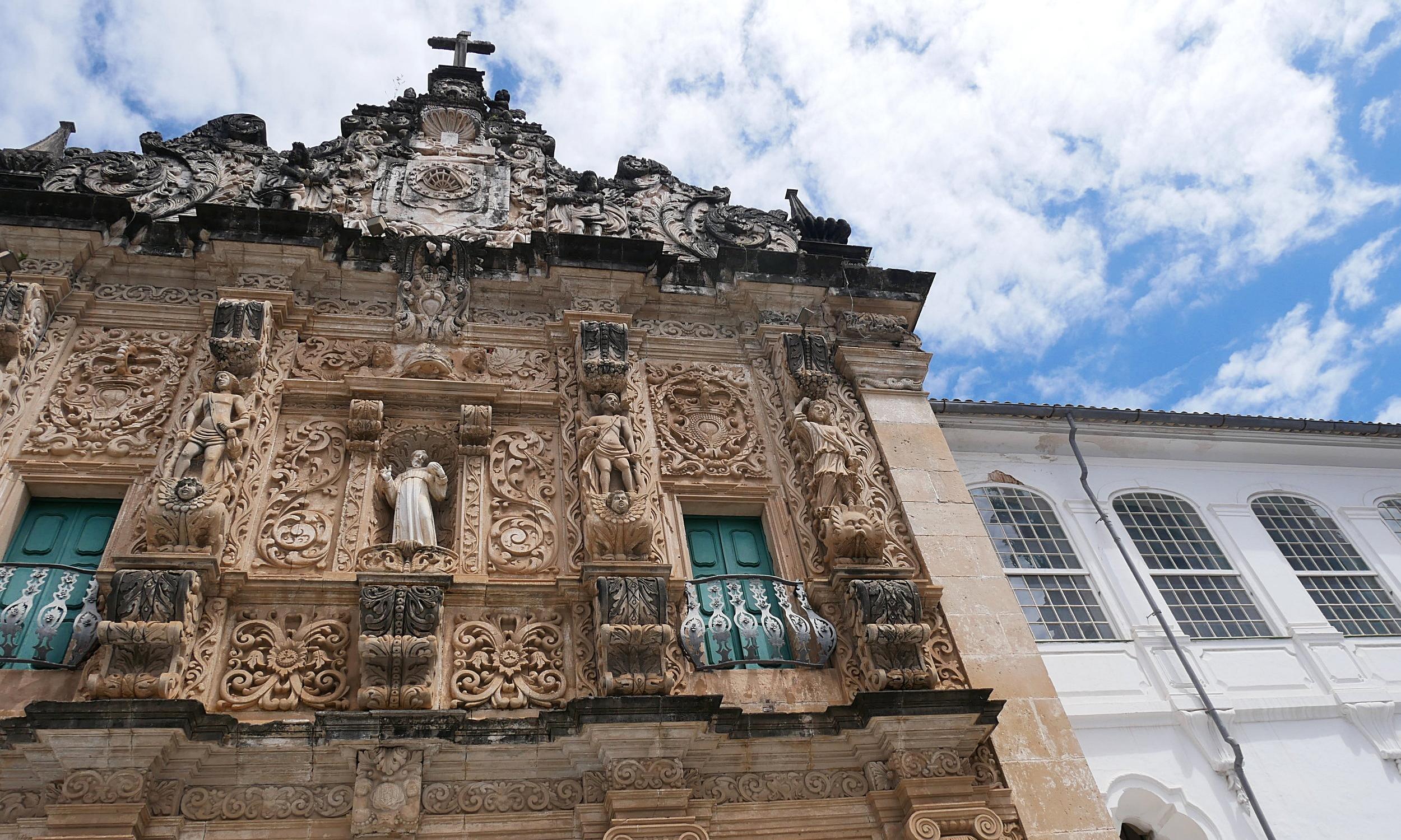 The beautiful baroque Igreja de São Francisco