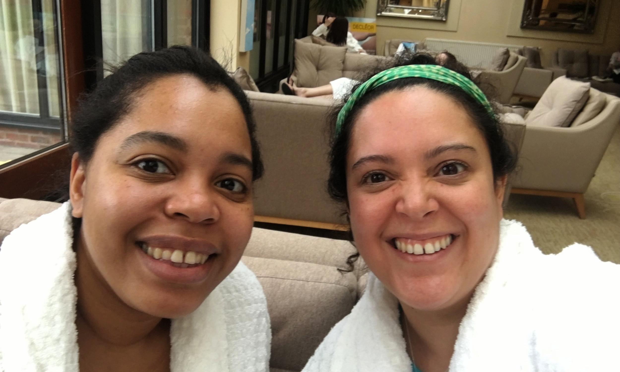 Girls spa day at Champneys