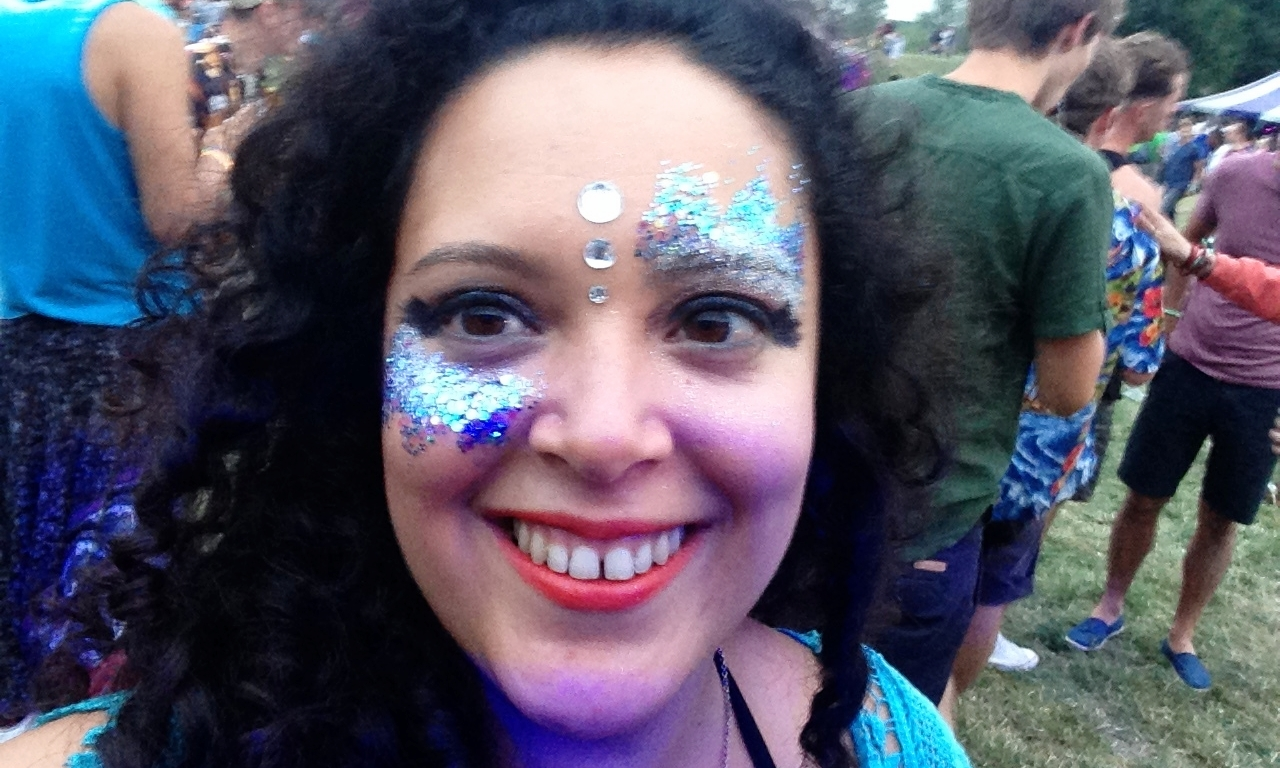Living it up at The Secret Garden party. My first proper music festival - and another tick off the bucket list!