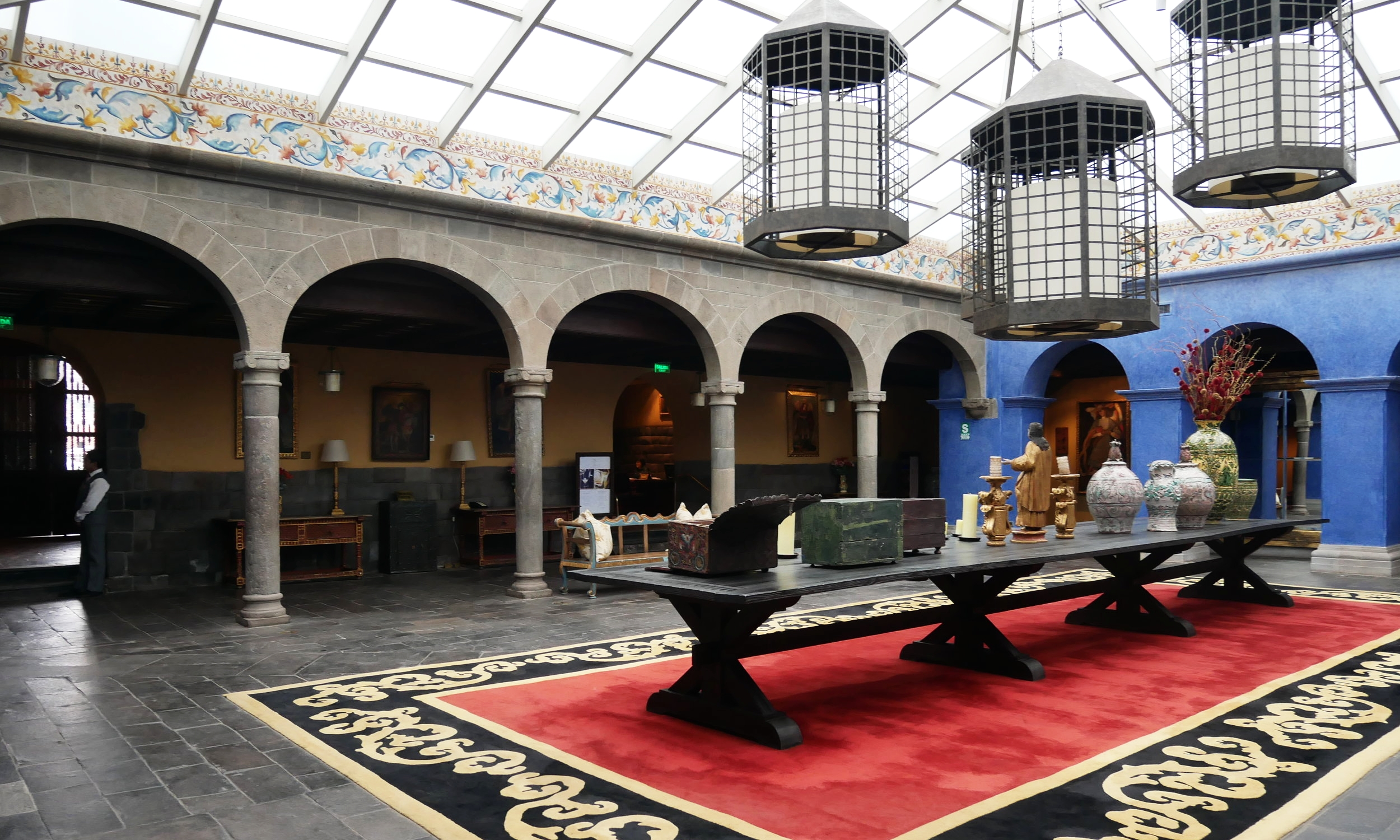 Palacio Del Inka's reception area