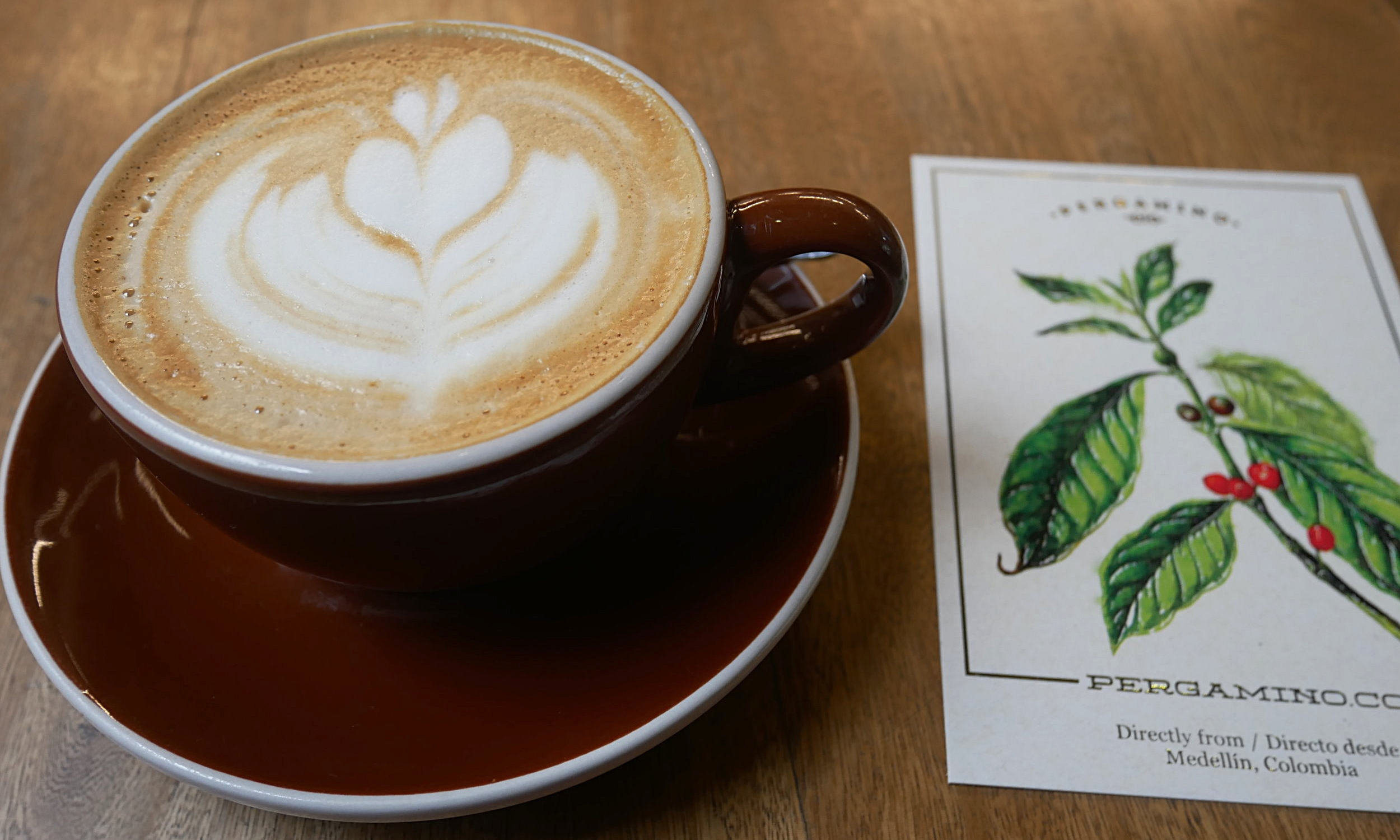Pergamino coffee - the perfect way to start your day in Medellin