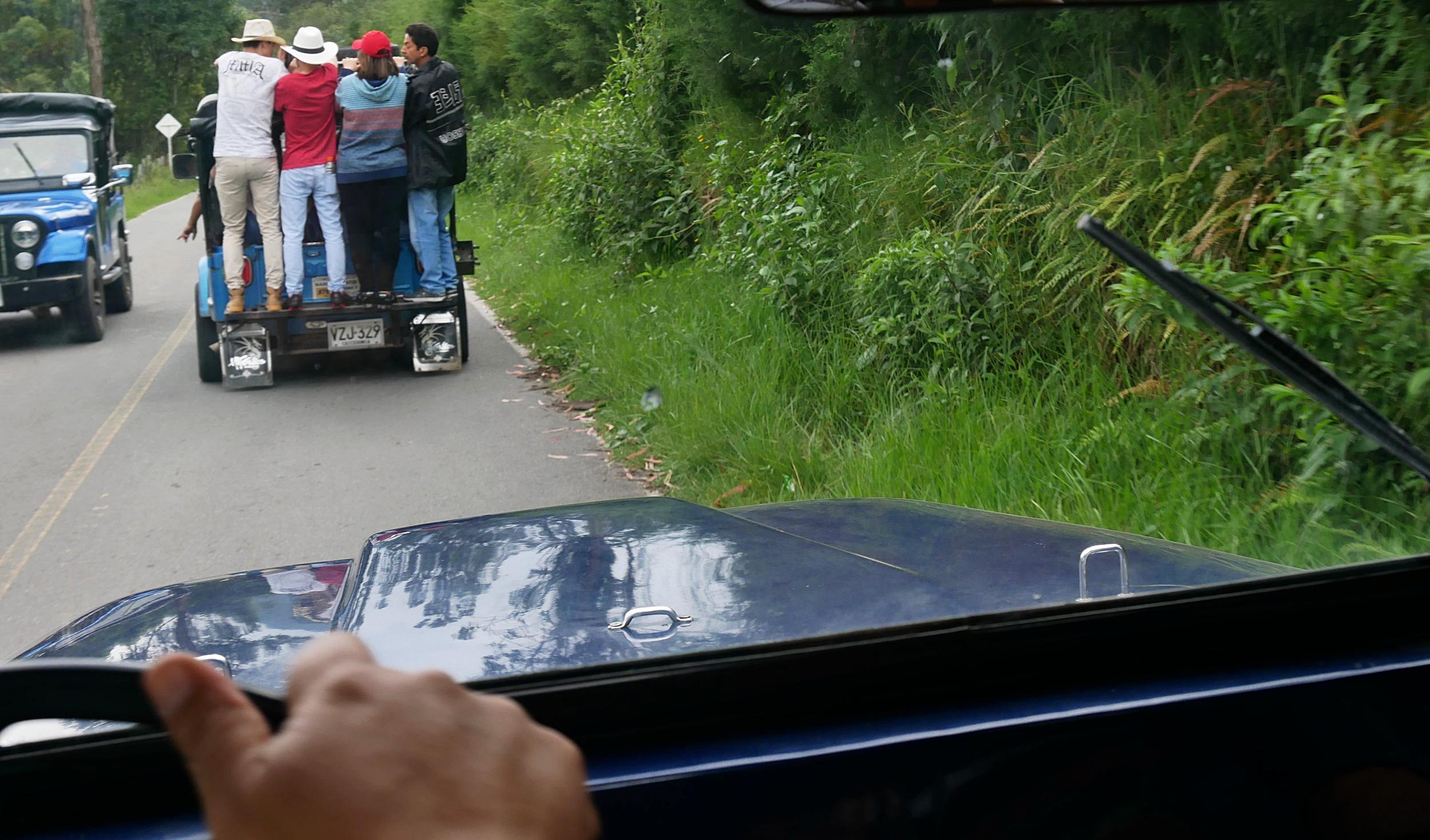 Willy traffic jam