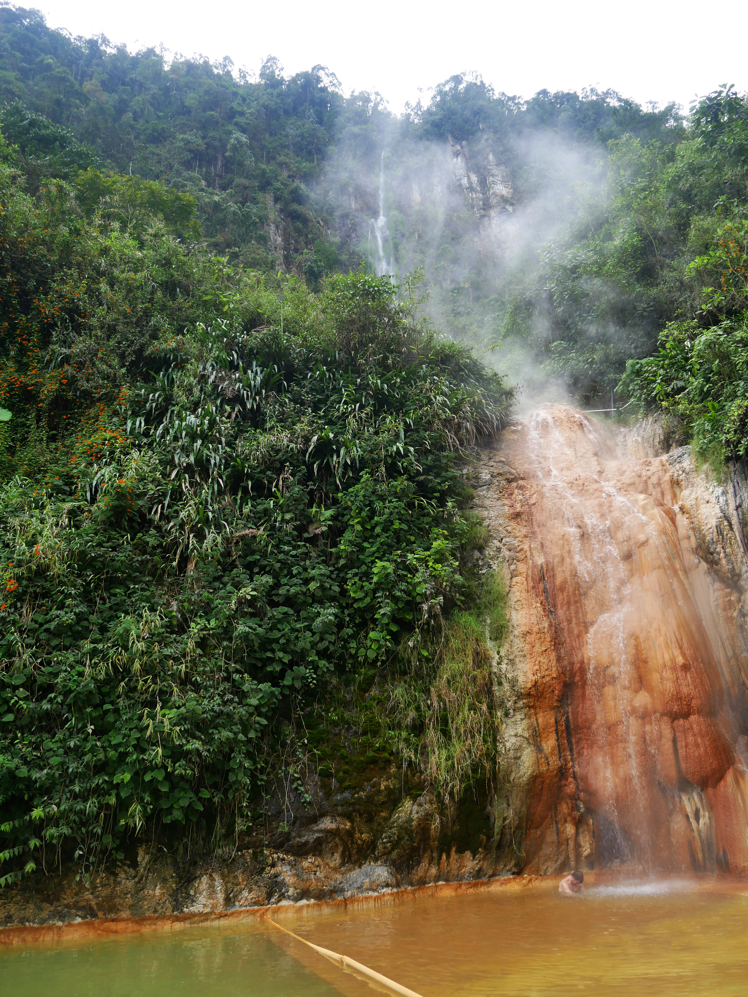 Steamy hot springs in Santa Rosa, Colombia to help you switch into relaxation mode