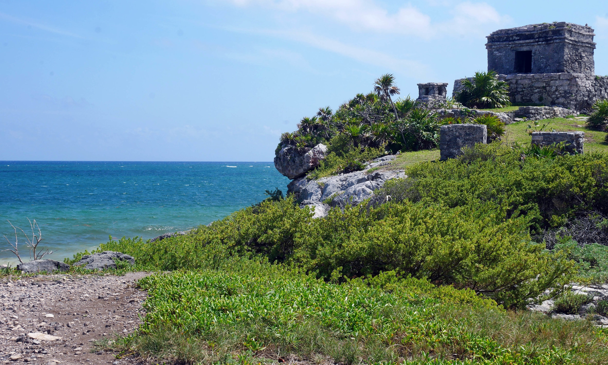 yucatan mexico roadtrip tulum ruins
