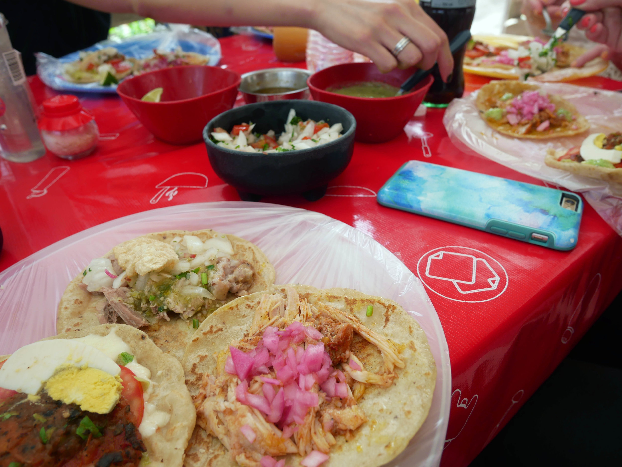 tacos honorio tulum mexico two week roadtrip
