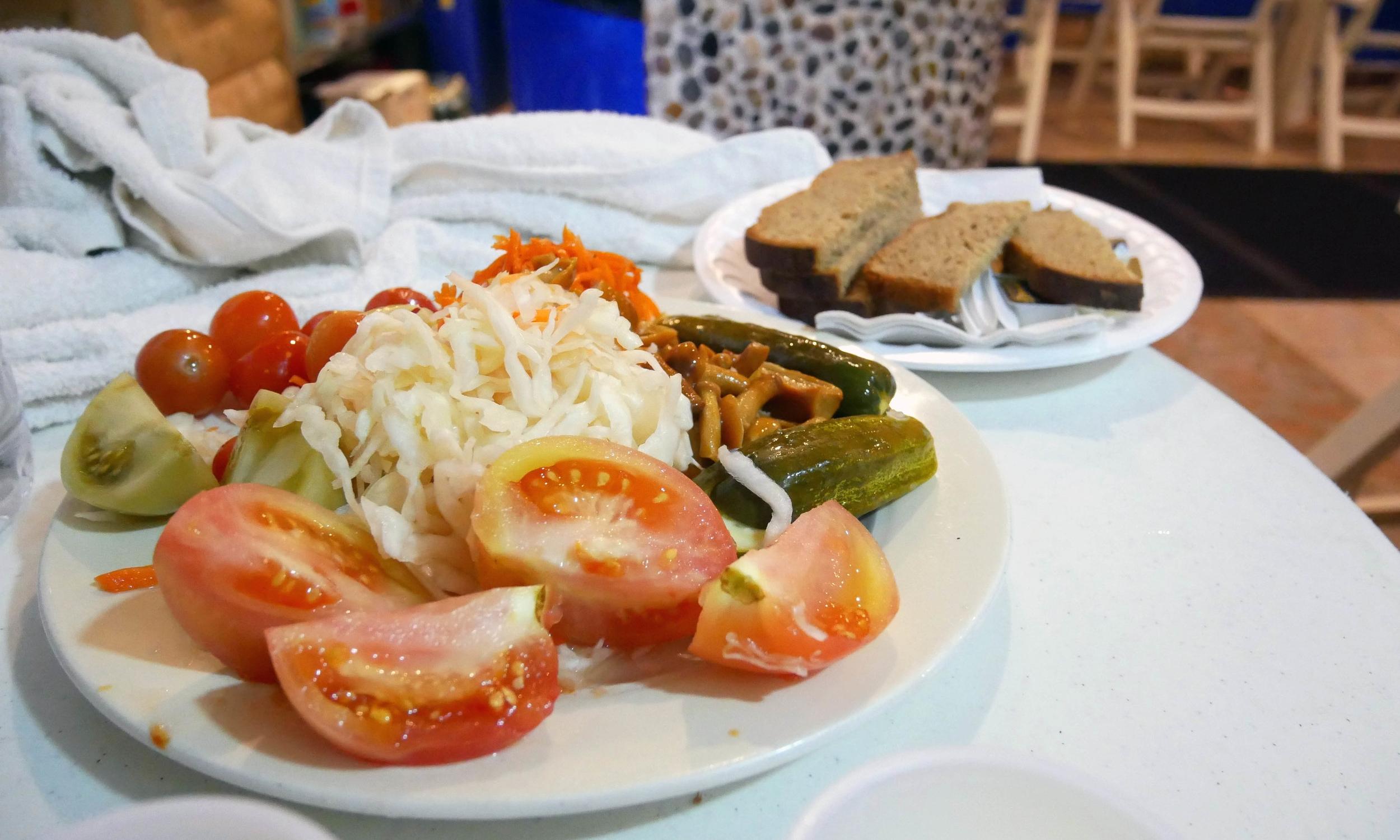 Pickled veggies are surprisingly delicious