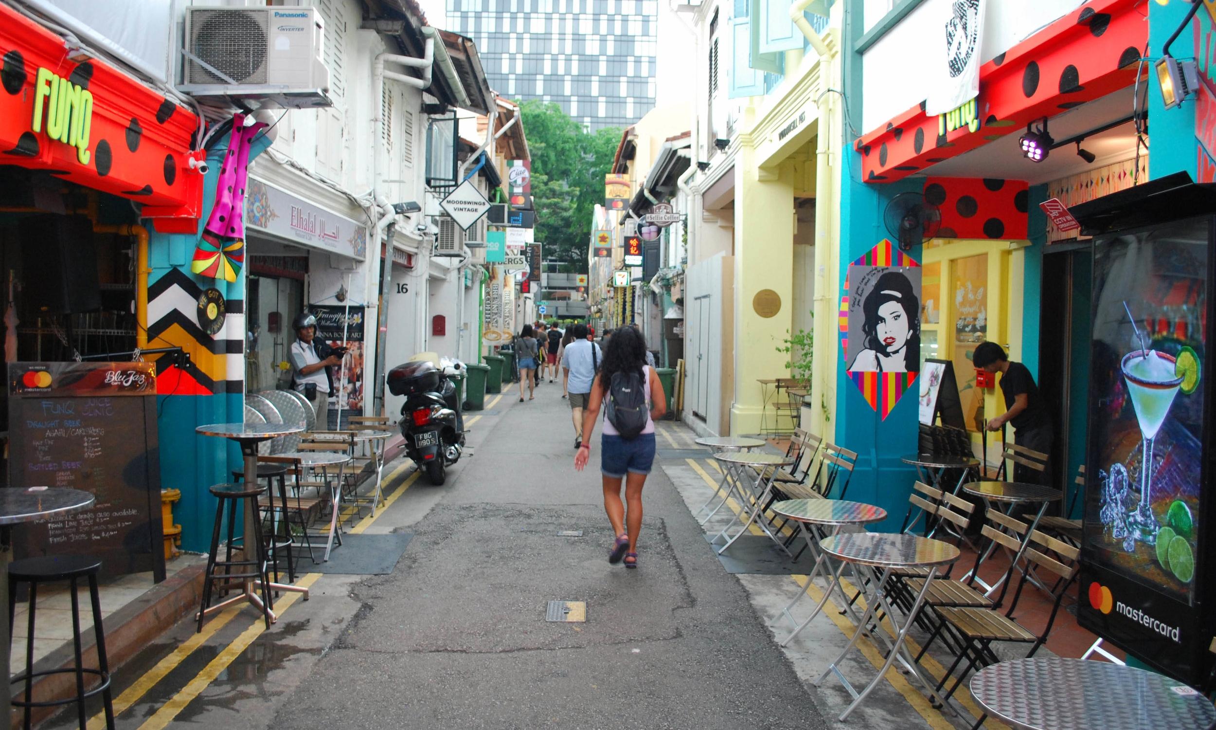 Strolling through Hadji Lane