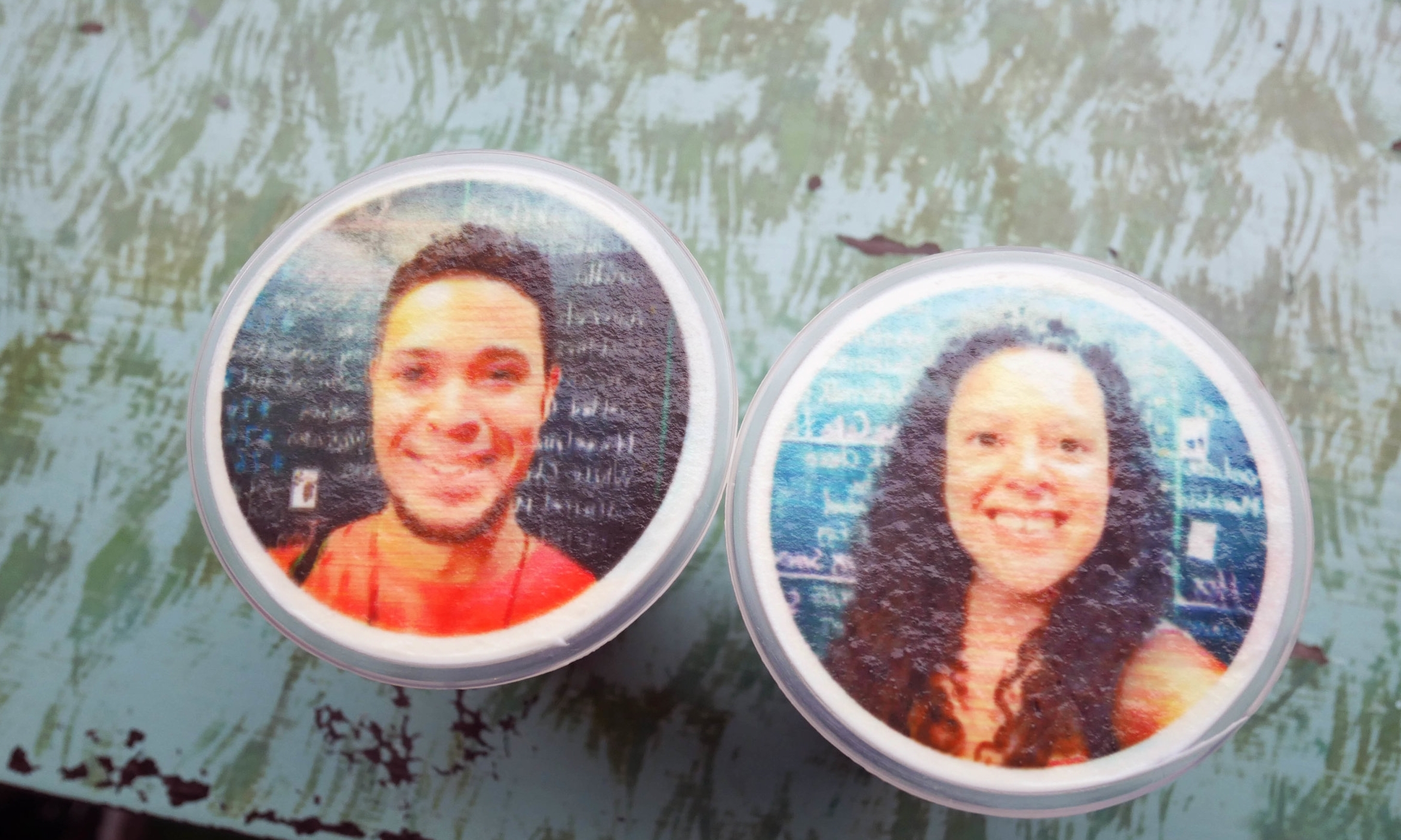 Our selfie coffees