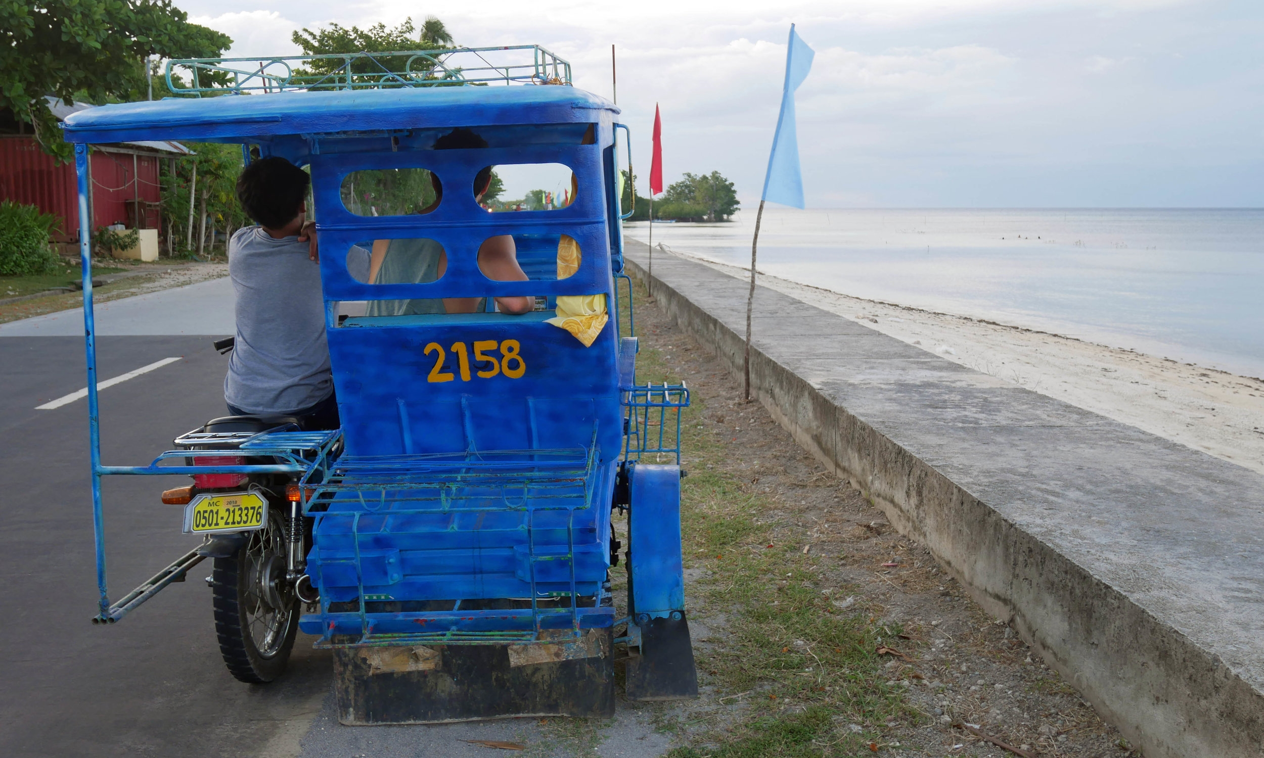 Cyclo life in Siquijor