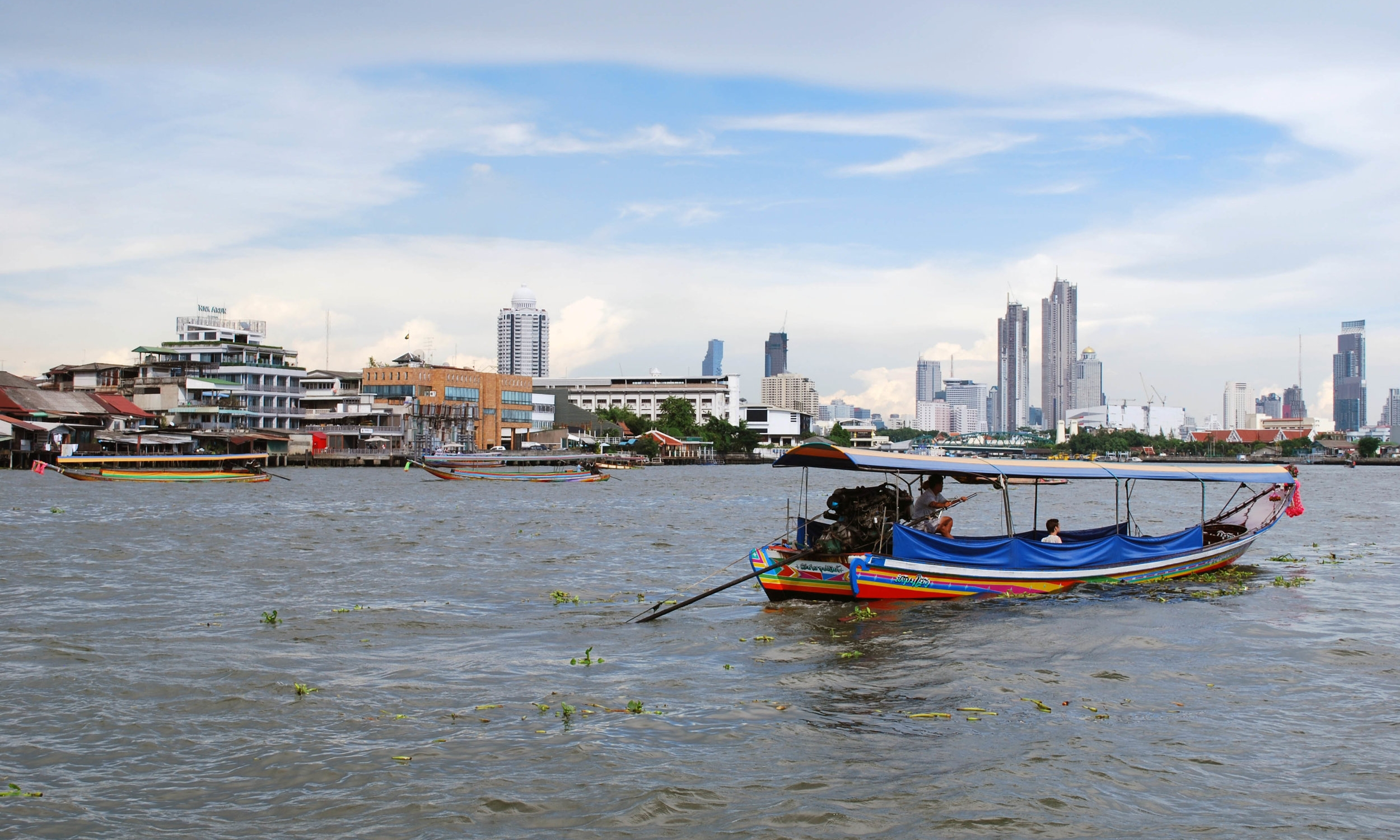 A tour on the Chao Phraya river