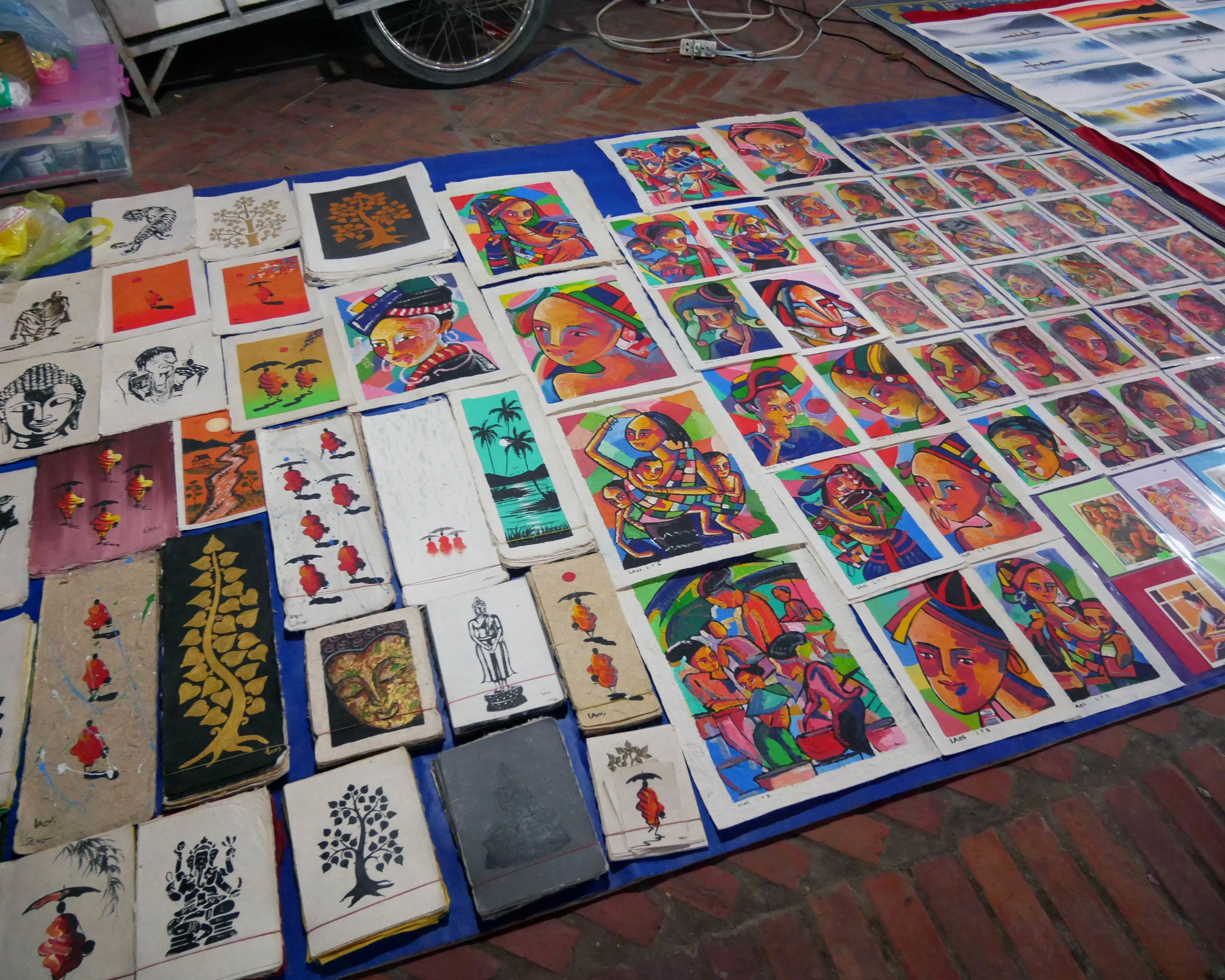 Paintings at the Night Market