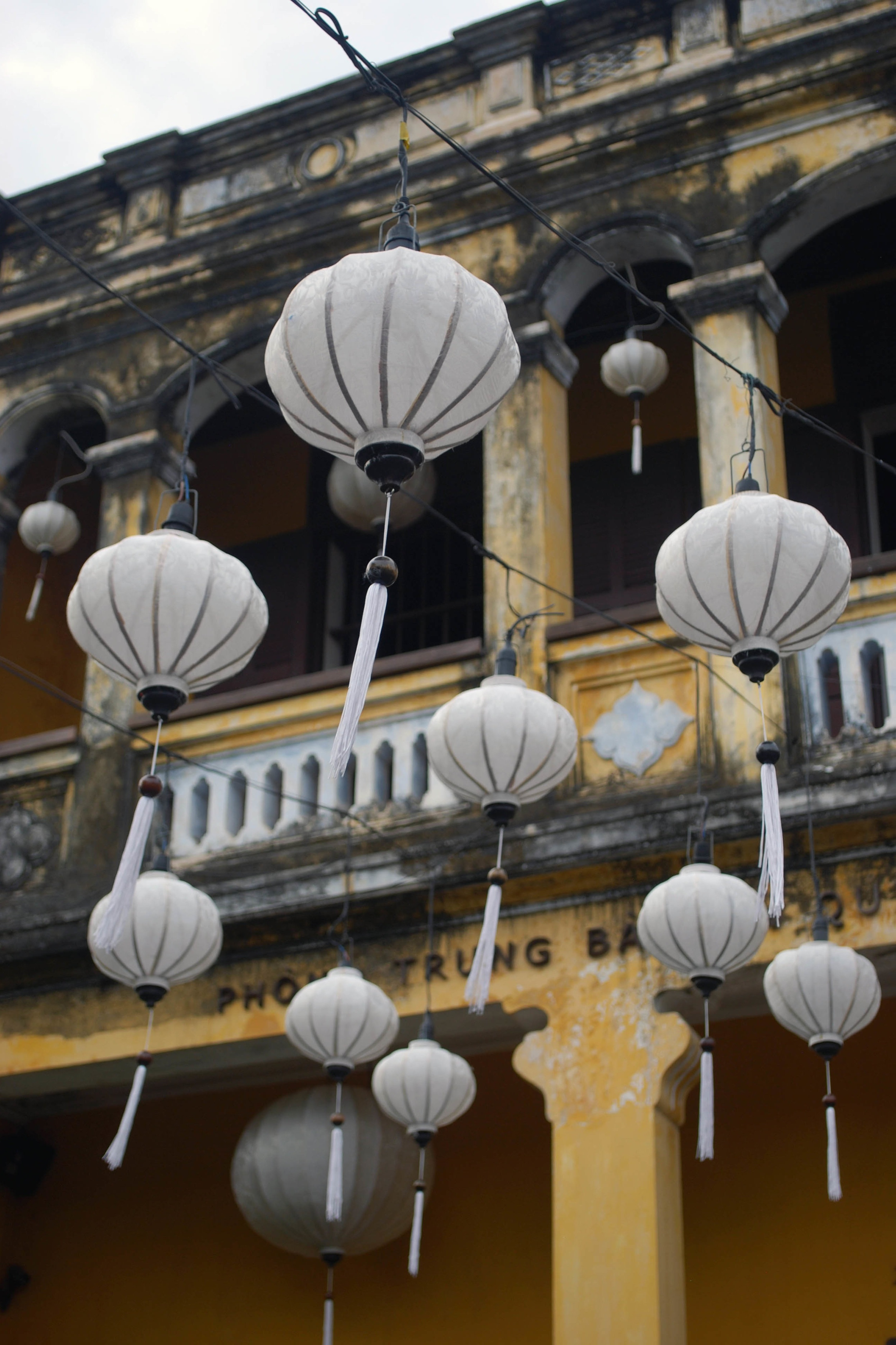Lanterns hanging in the Old Town, Hoi An